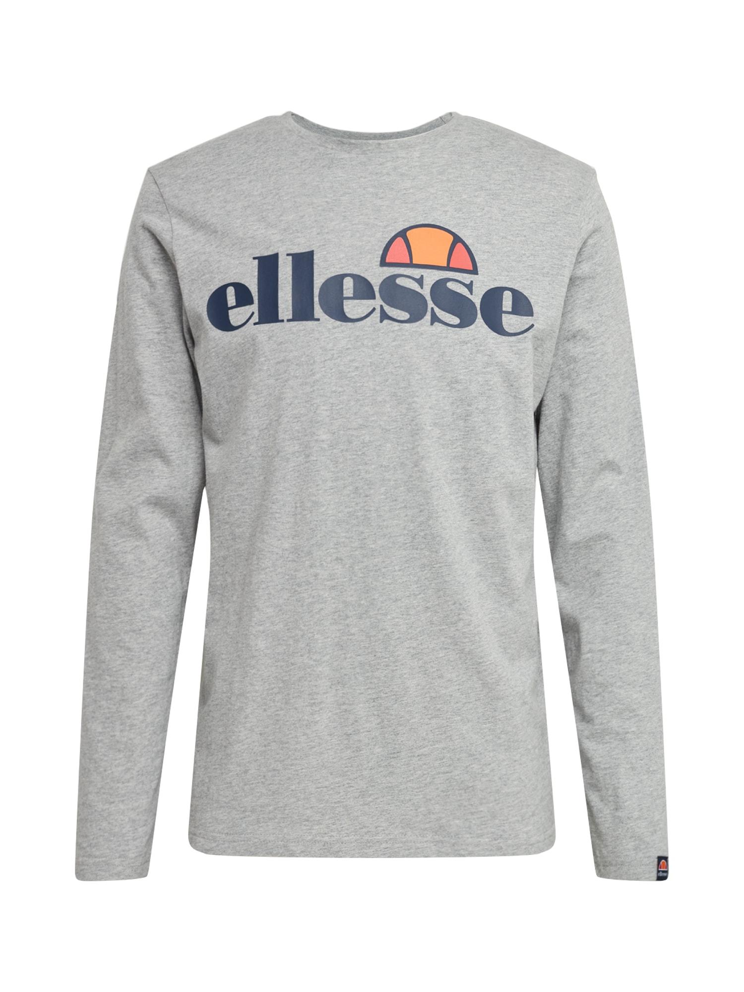 ELLESSE Marškinėliai 'GRAZIE' šviesiai pilka