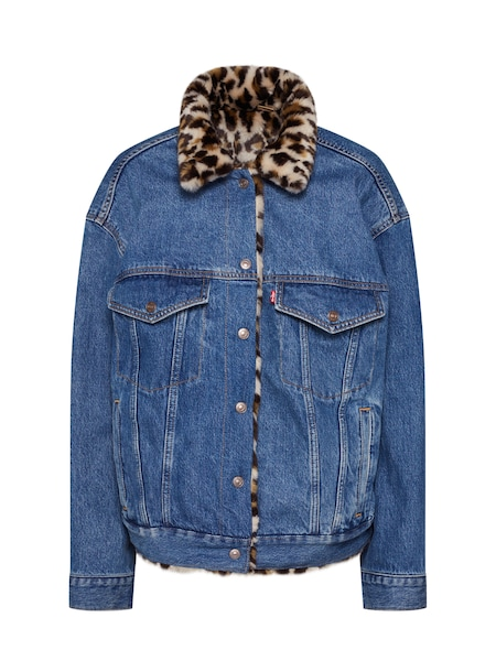 Jacken - Jeansjacke 'DAD REVERSE FUR TRUCKER' › Levi's › blue denim  - Onlineshop ABOUT YOU