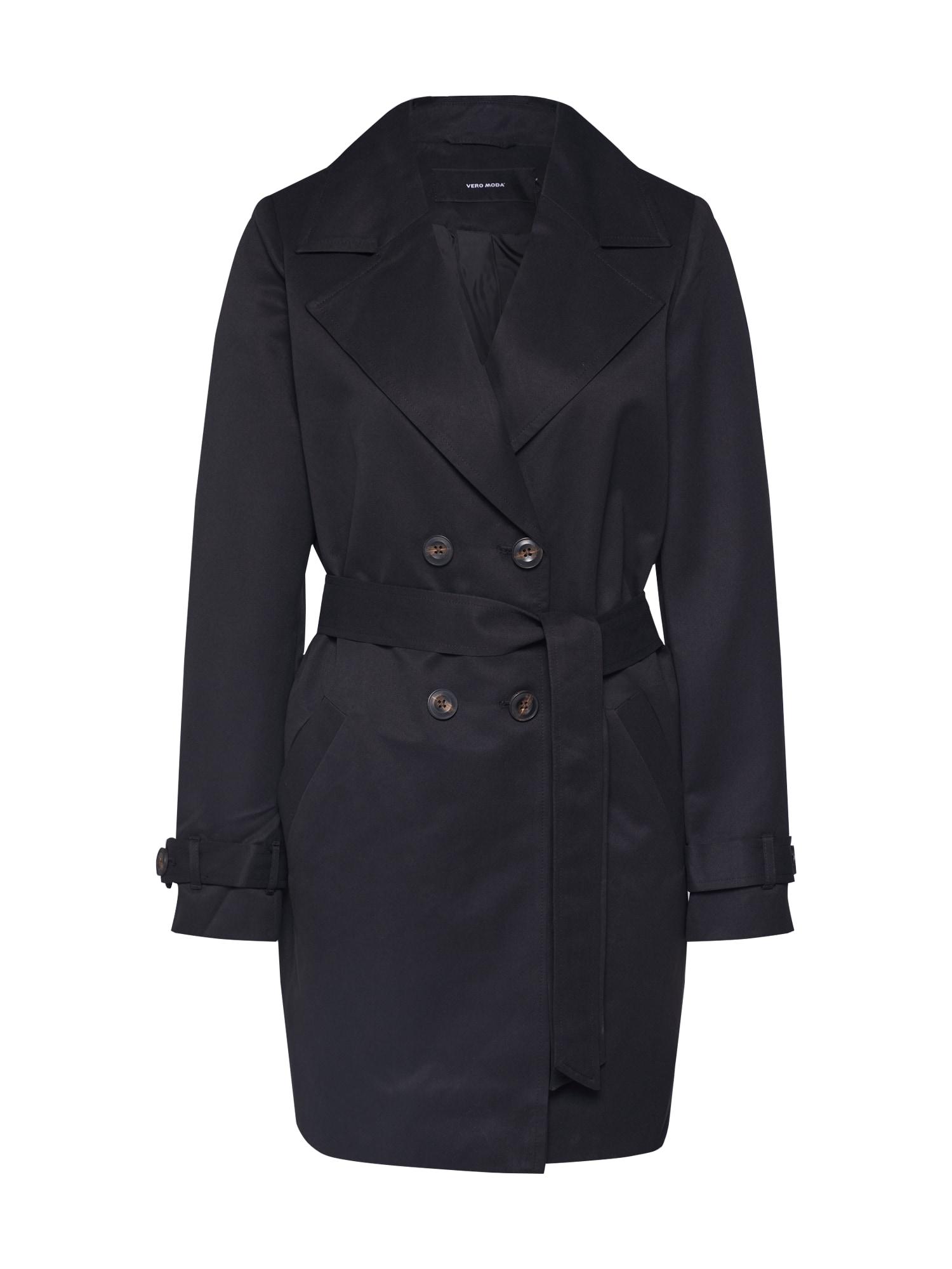 VERO MODA Rudeninis-žieminis paltas 'VMBERTA' juoda