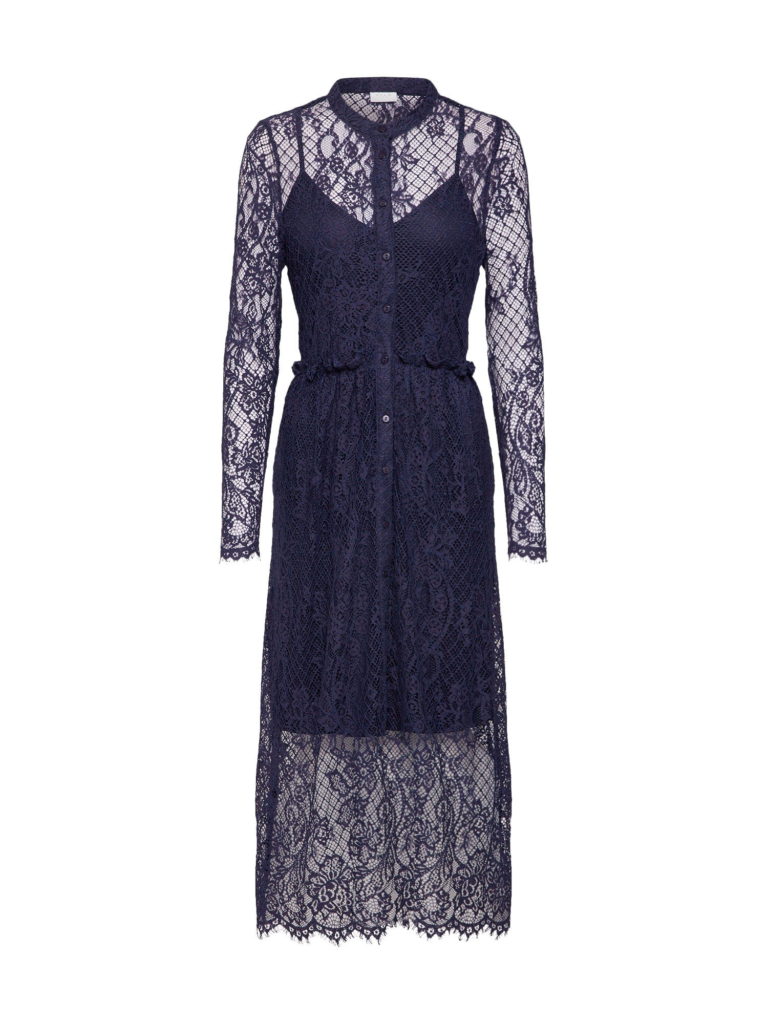 Šaty VILIVIAS námořnická modř VILA