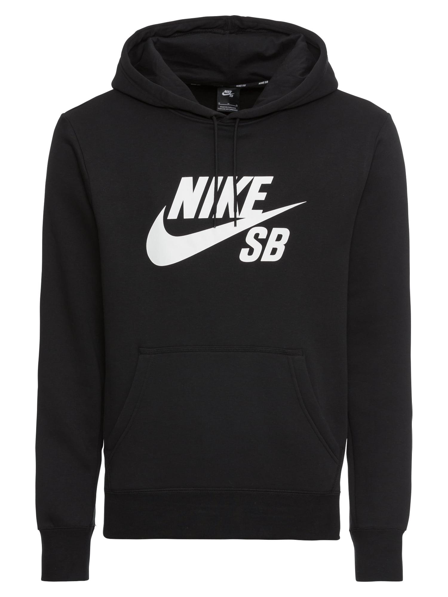 Mikina černá bílá Nike SB