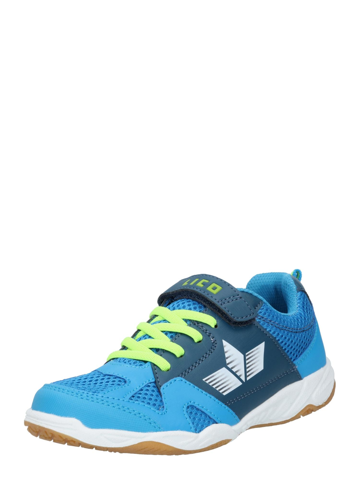 LICO Sportiniai batai mėlyna / obuolių spalva