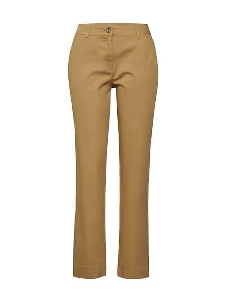 Hosen für Frauen - EDITED Hose 'Elena' beige camel  - Onlineshop ABOUT YOU
