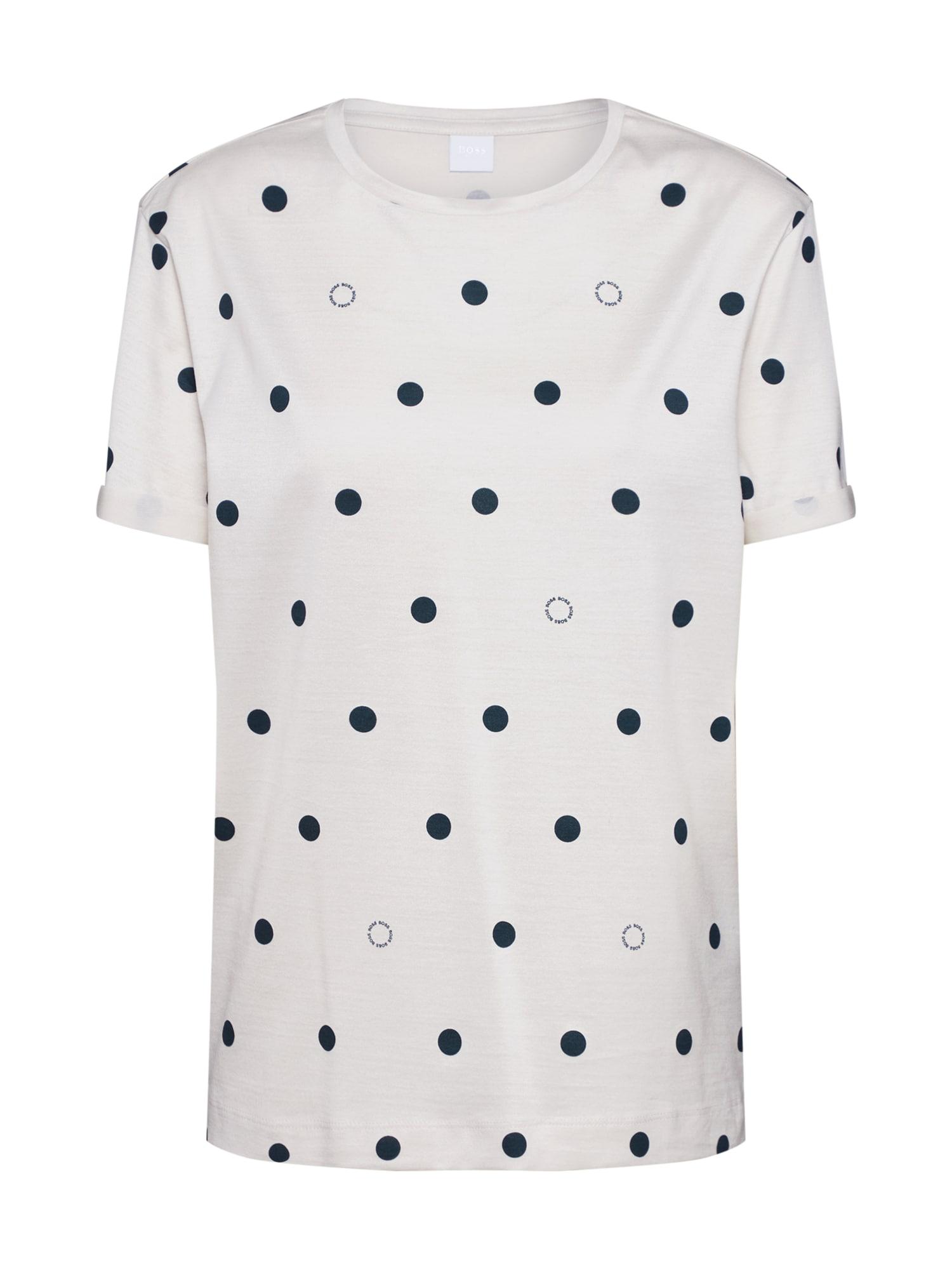 BOSS Marškinėliai 'Tedot' balta