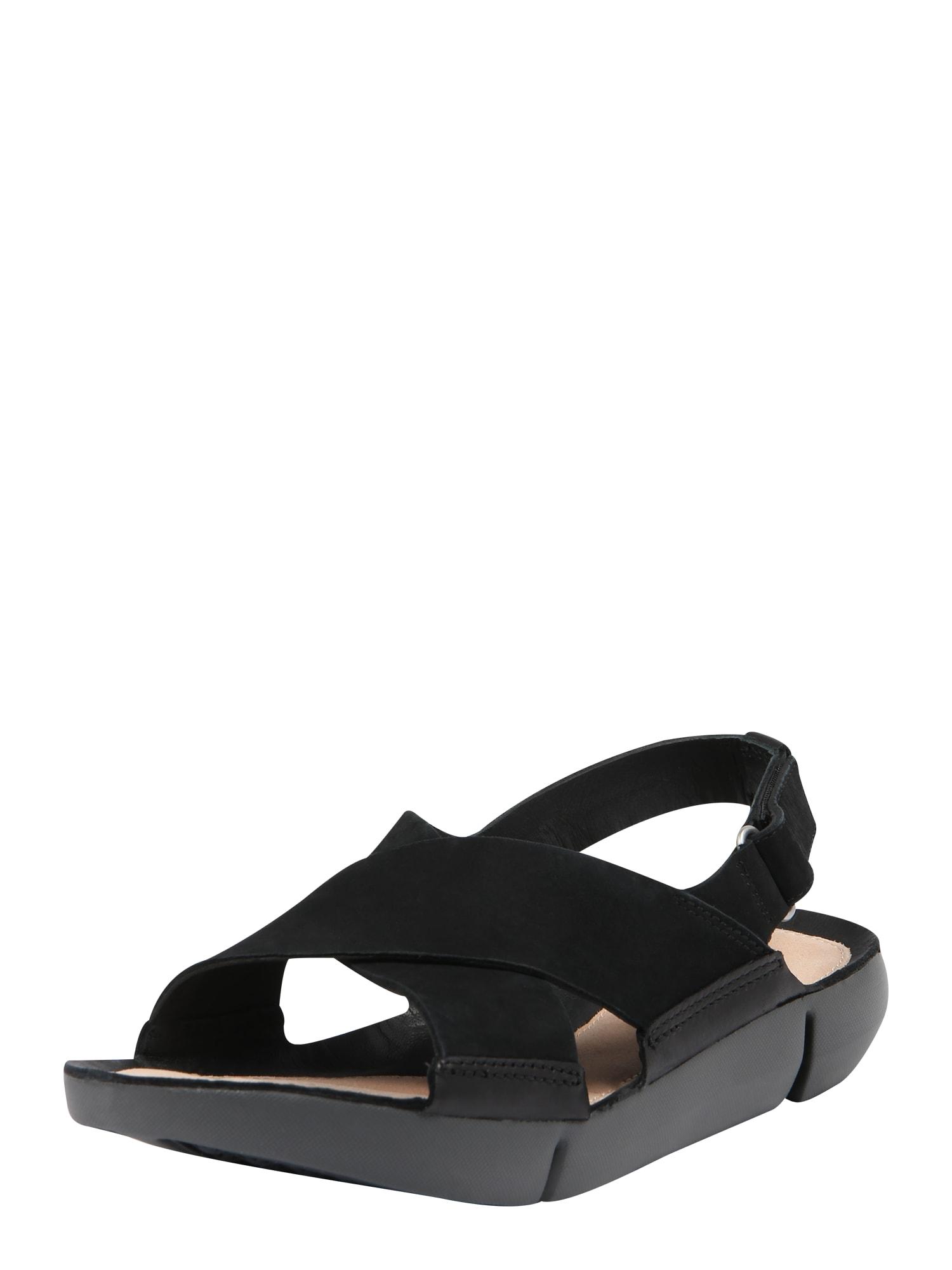 Sandály Tri Chloe černá CLARKS