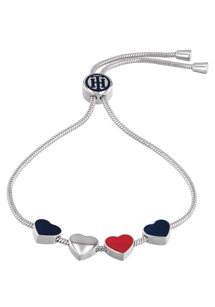Armbaender für Frauen - TOMMY HILFIGER Armband 'Casual Core' silber  - Onlineshop ABOUT YOU