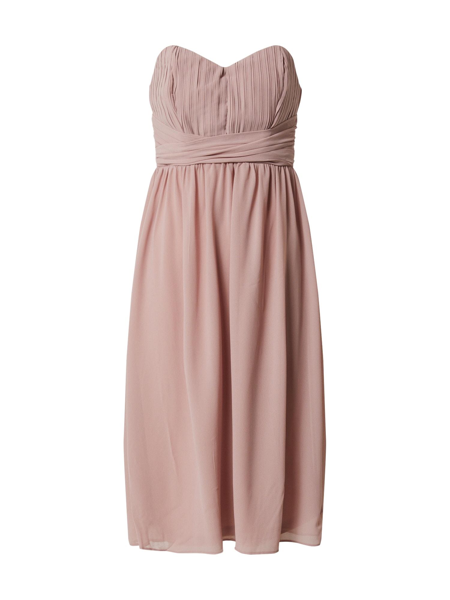 TFNC Kokteilinė suknelė rožinė