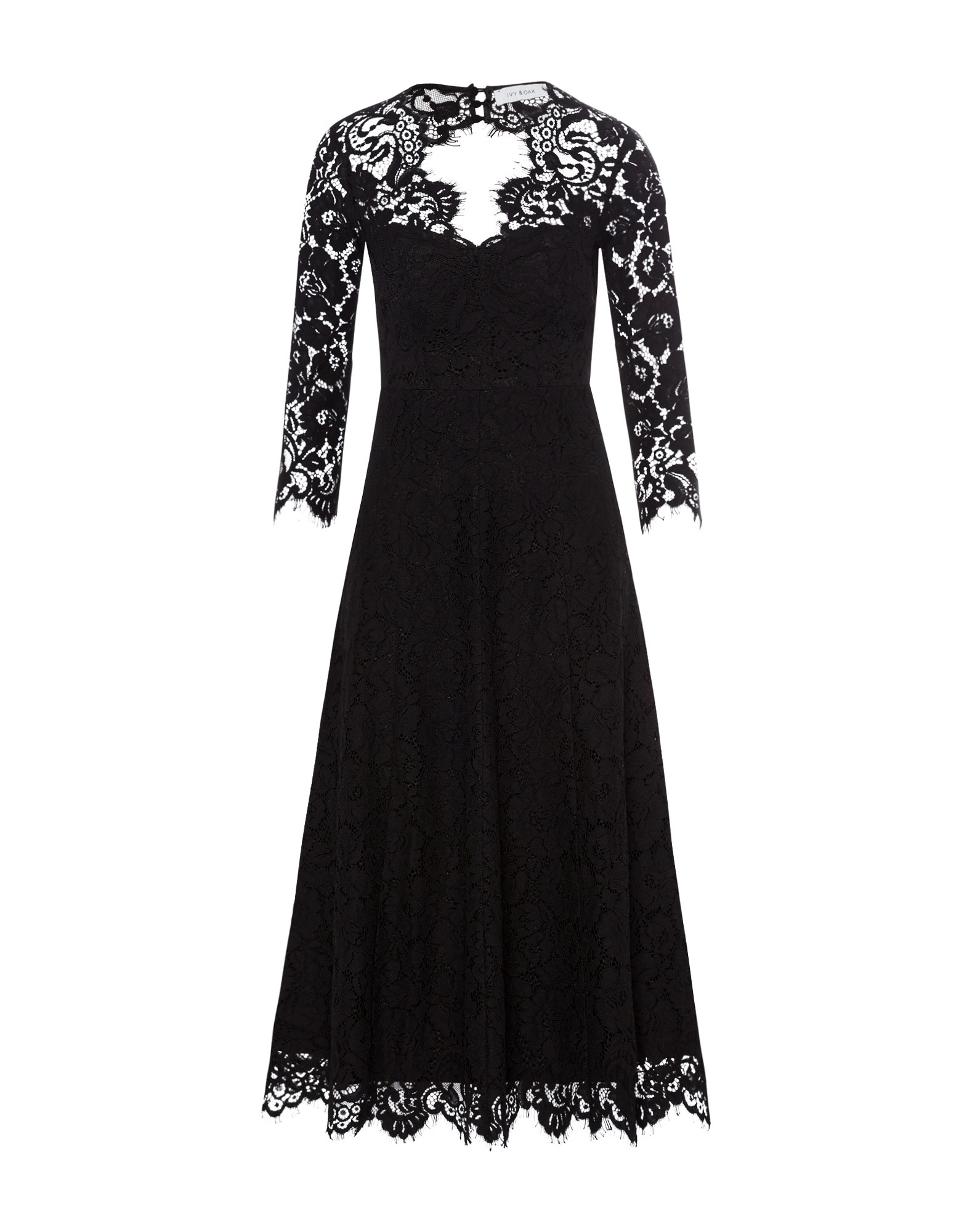 IVY & OAK Kokteilinė suknelė juoda