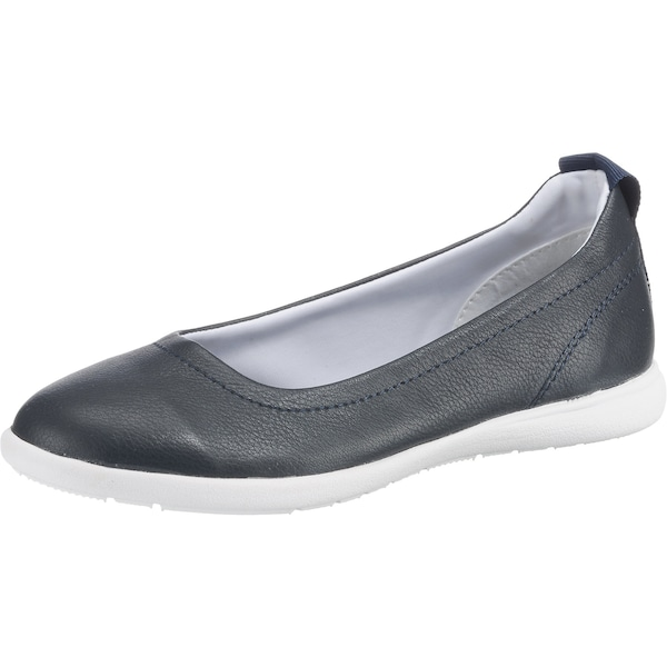 Ballerinas für Frauen - TOM TAILOR Ballerinas dunkelblau  - Onlineshop ABOUT YOU