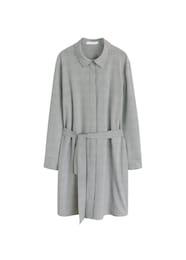 MANGO Damen Kleid Free grau | 08433248797227