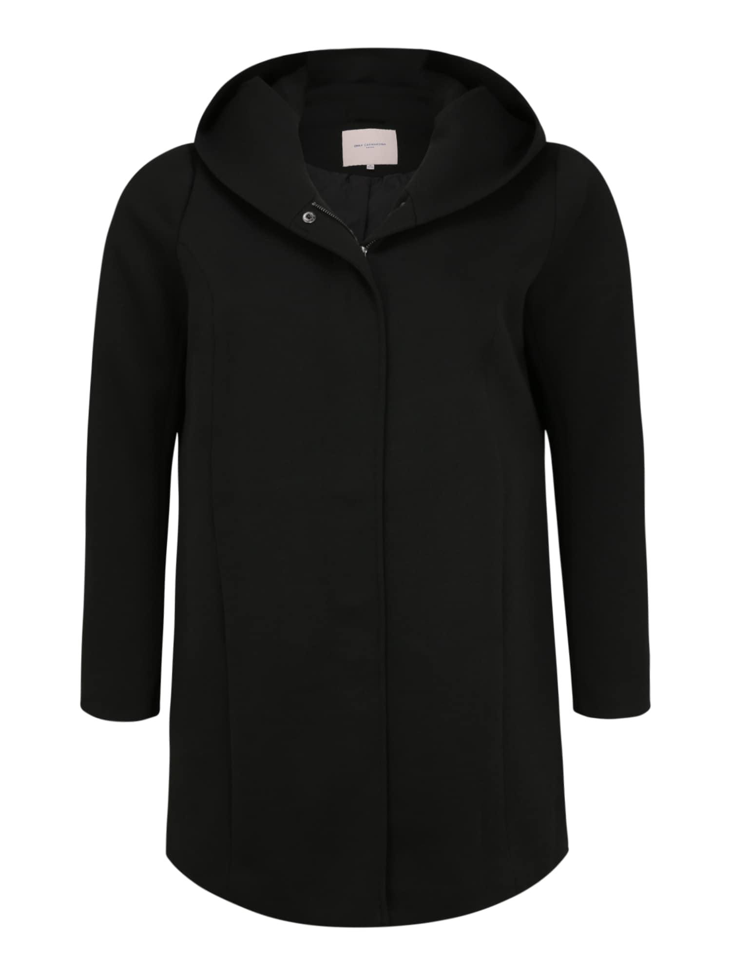 ONLY Carmakoma Demisezoninis paltas juoda