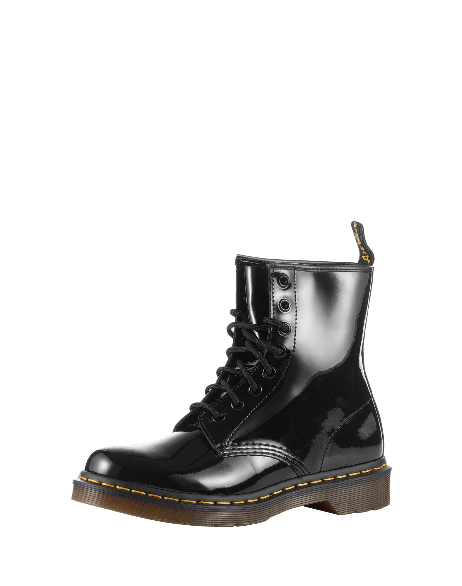 Dr. Martens Suvarstomieji kulkšnis dengiantys batai juoda