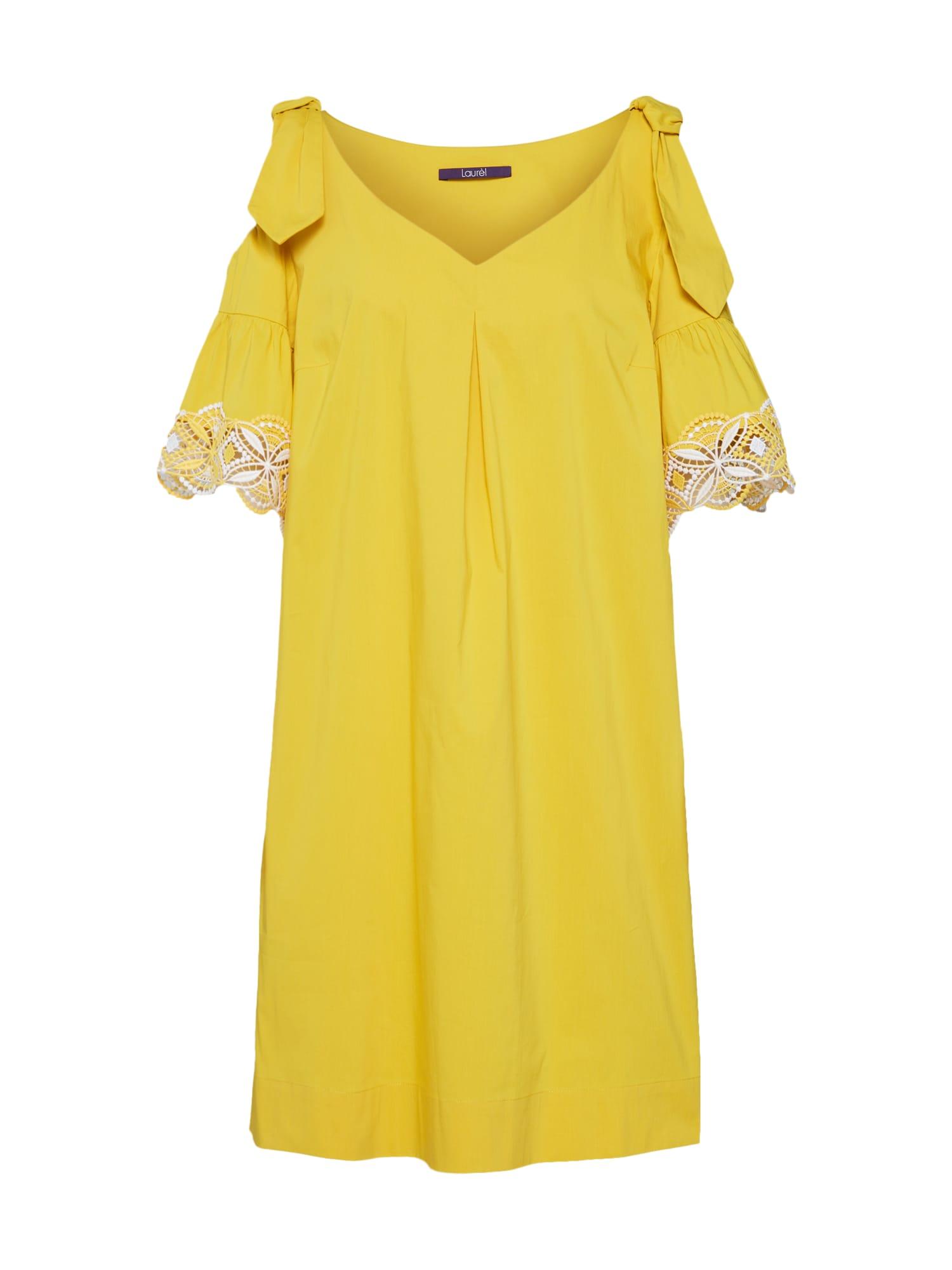 Šaty 11043 žlutá LAUREL