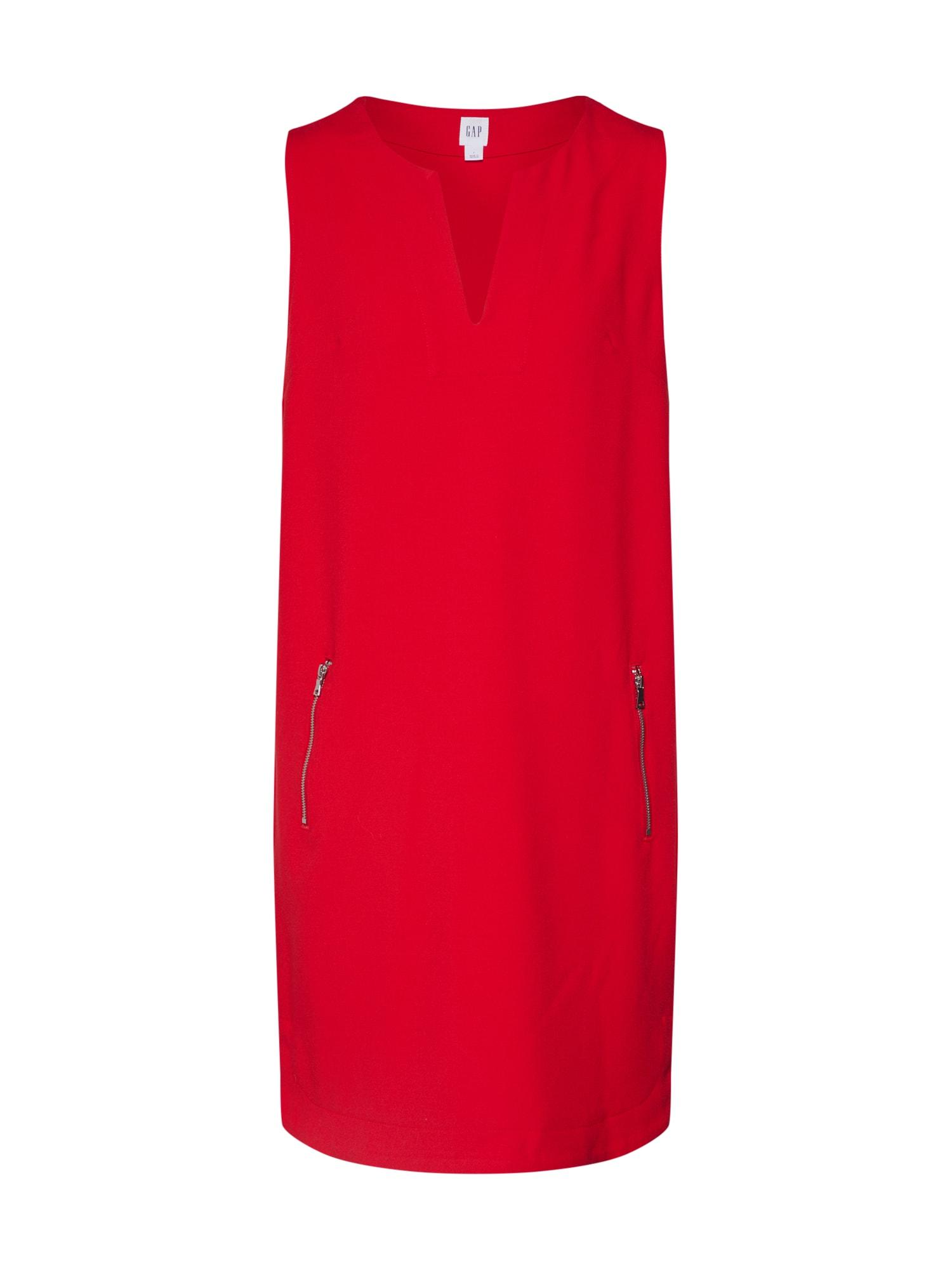 GAP Trumpa kokteilinė suknelė raudona