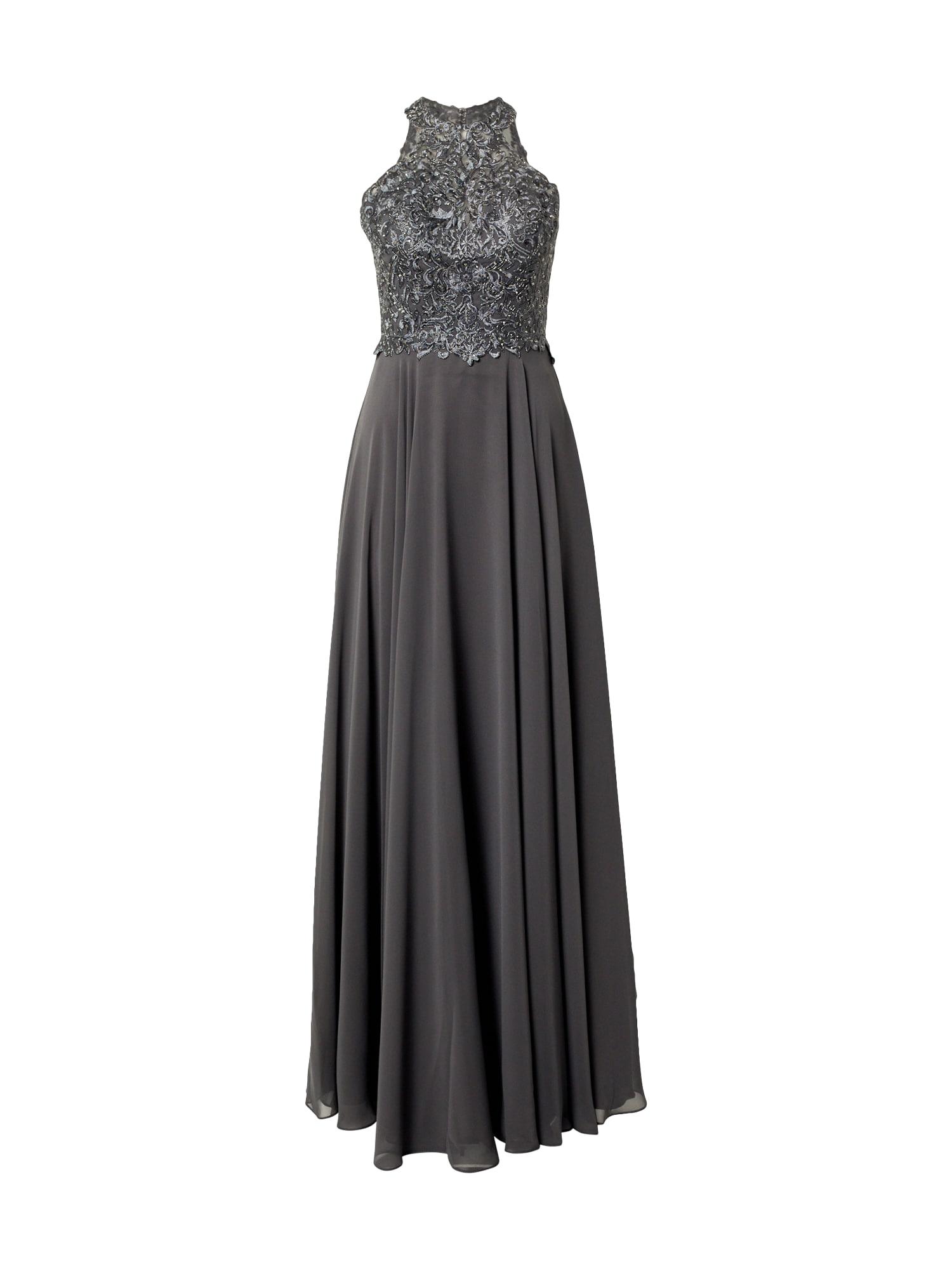 LUXUAR Vakarinė suknelė pilka