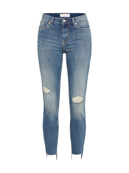 Hosen für Frauen - TOM TAILOR DENIM Jeans 'Nela' blue denim  - Onlineshop ABOUT YOU
