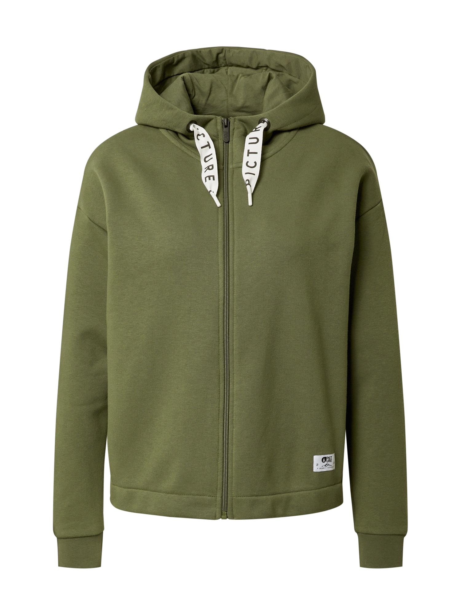 Picture Organic Clothing Sportinis džemperis alyvuogių spalva