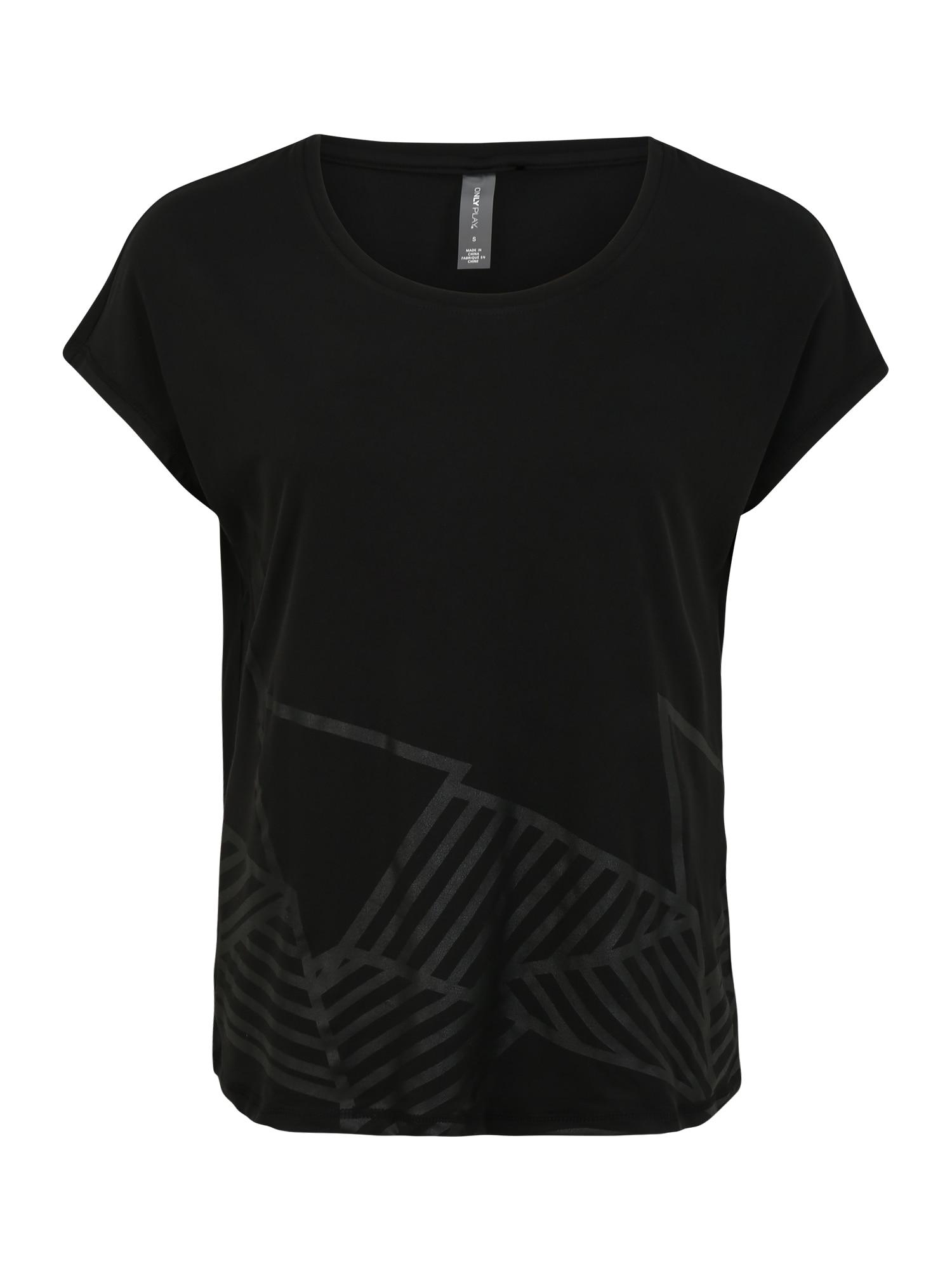 ONLY PLAY Sportiniai marškinėliai 'MAGDALENA' juoda