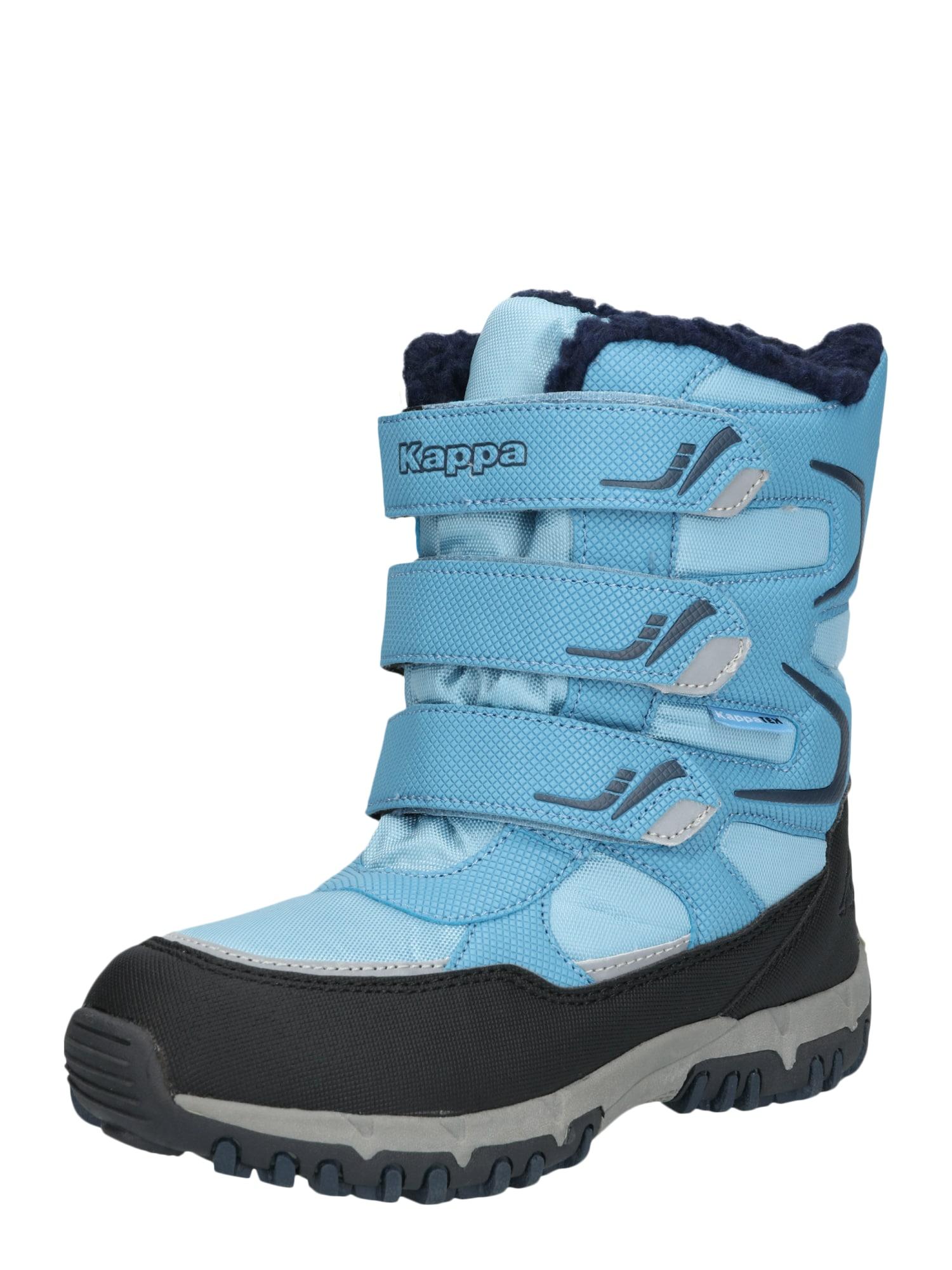 KAPPA Sniego batai 'GREAT TEX K' tamsiai mėlyna / šviesiai mėlyna