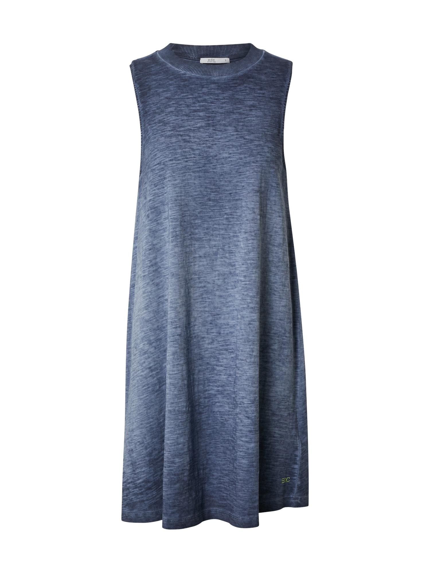 EDC BY ESPRIT Vasarinė suknelė 'Cold Pig.' tamsiai mėlyna