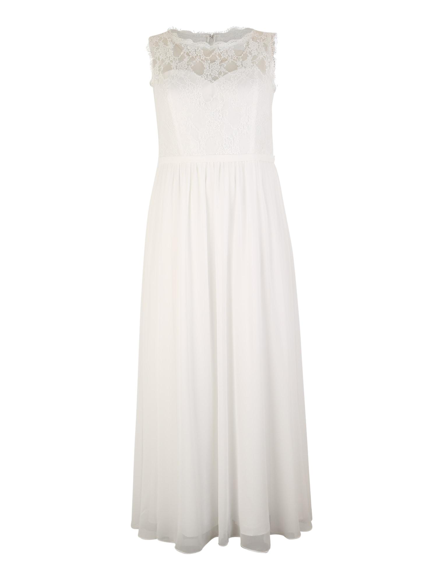 My Mascara Curves Společenské šaty  bílá