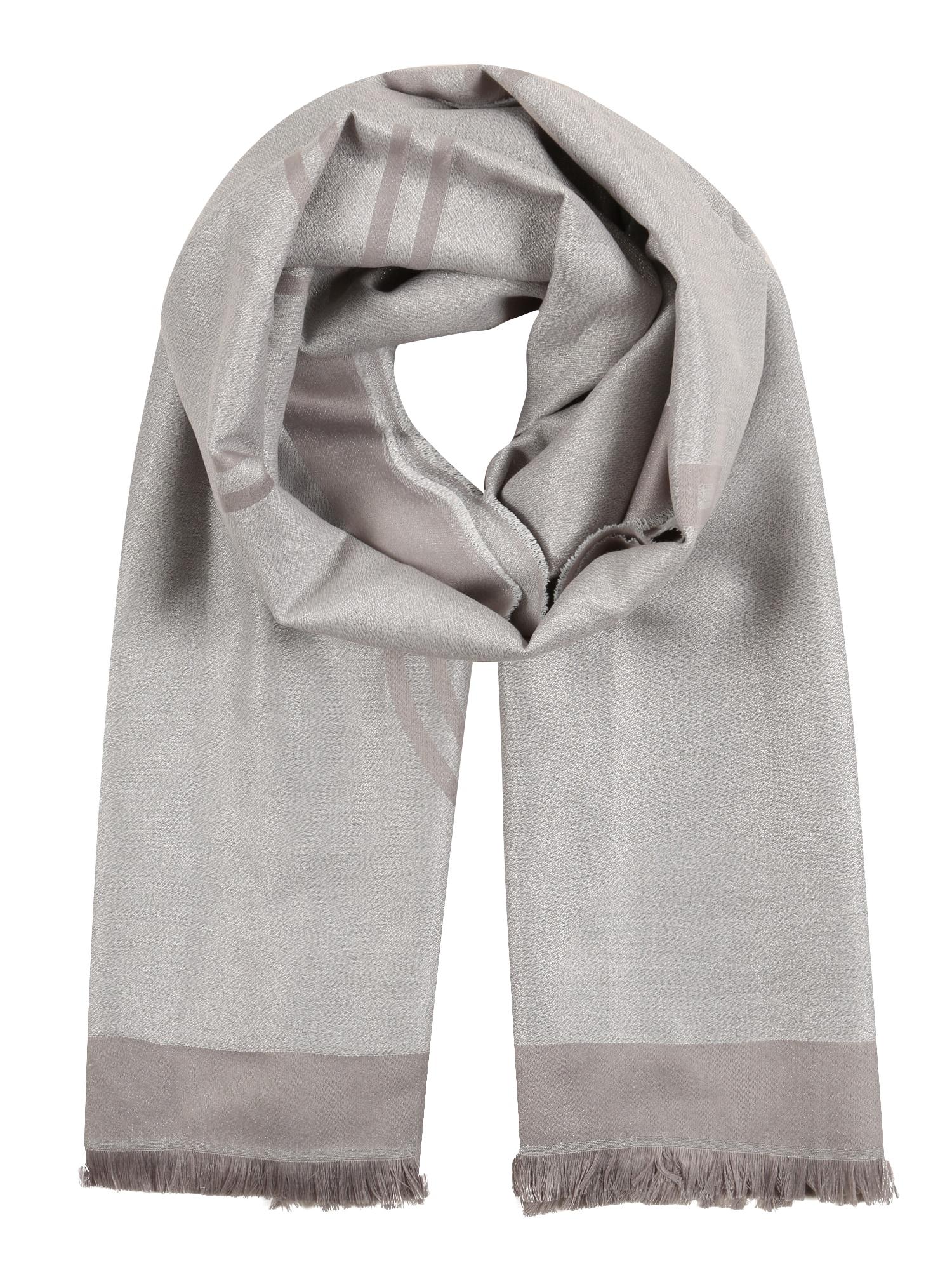 Calvin Klein Skara 'LUREX STOLE' sidabras