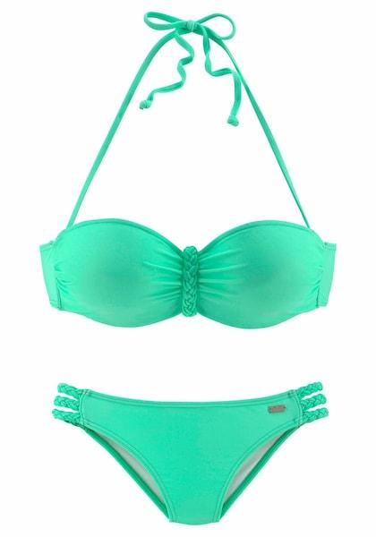 Bademode für Frauen - Bandeau Bikini › Buffalo › mint  - Onlineshop ABOUT YOU