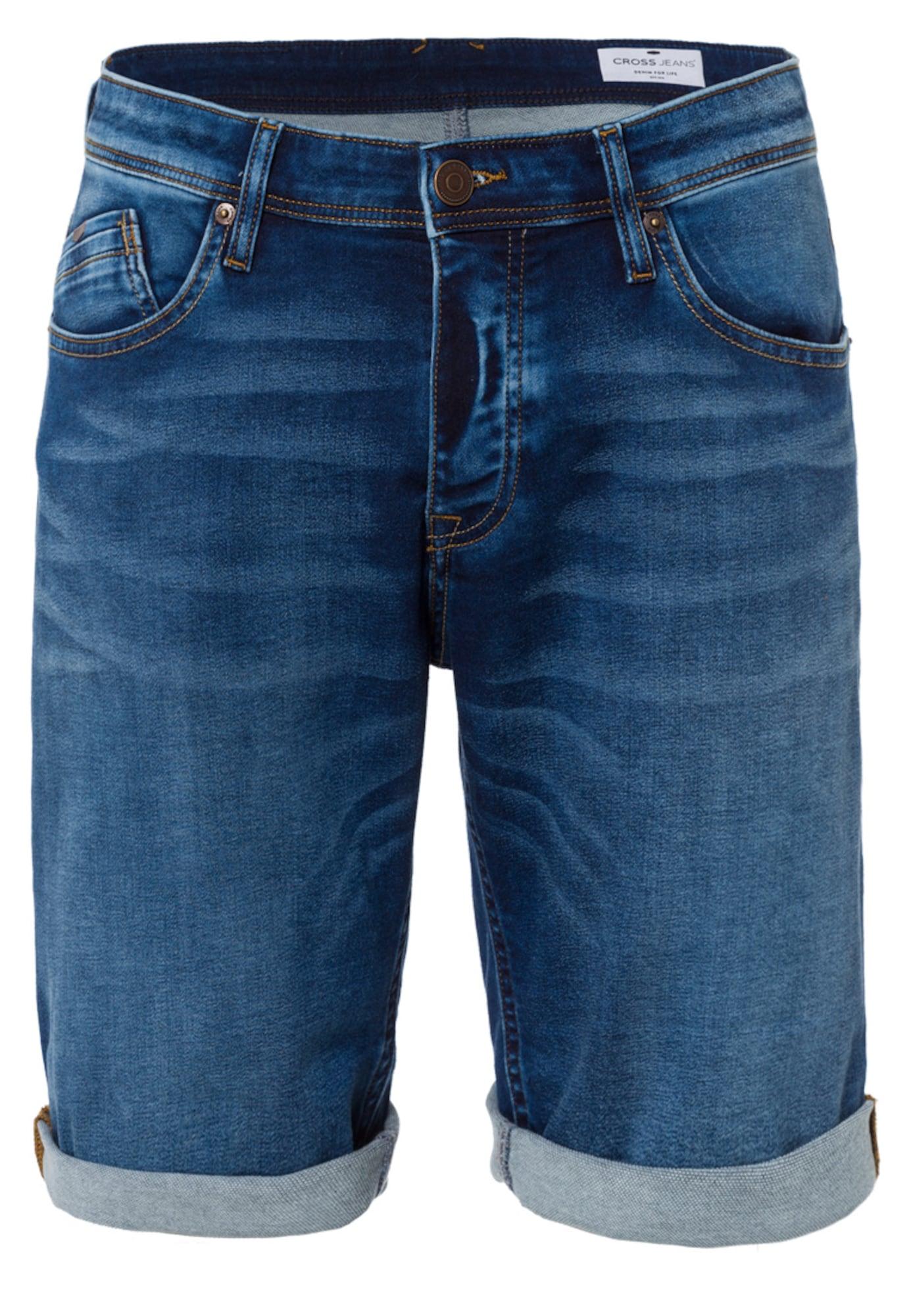 Jeansshorts 'Leom' | Bekleidung > Shorts & Bermudas > Jeans Shorts | cross jeans