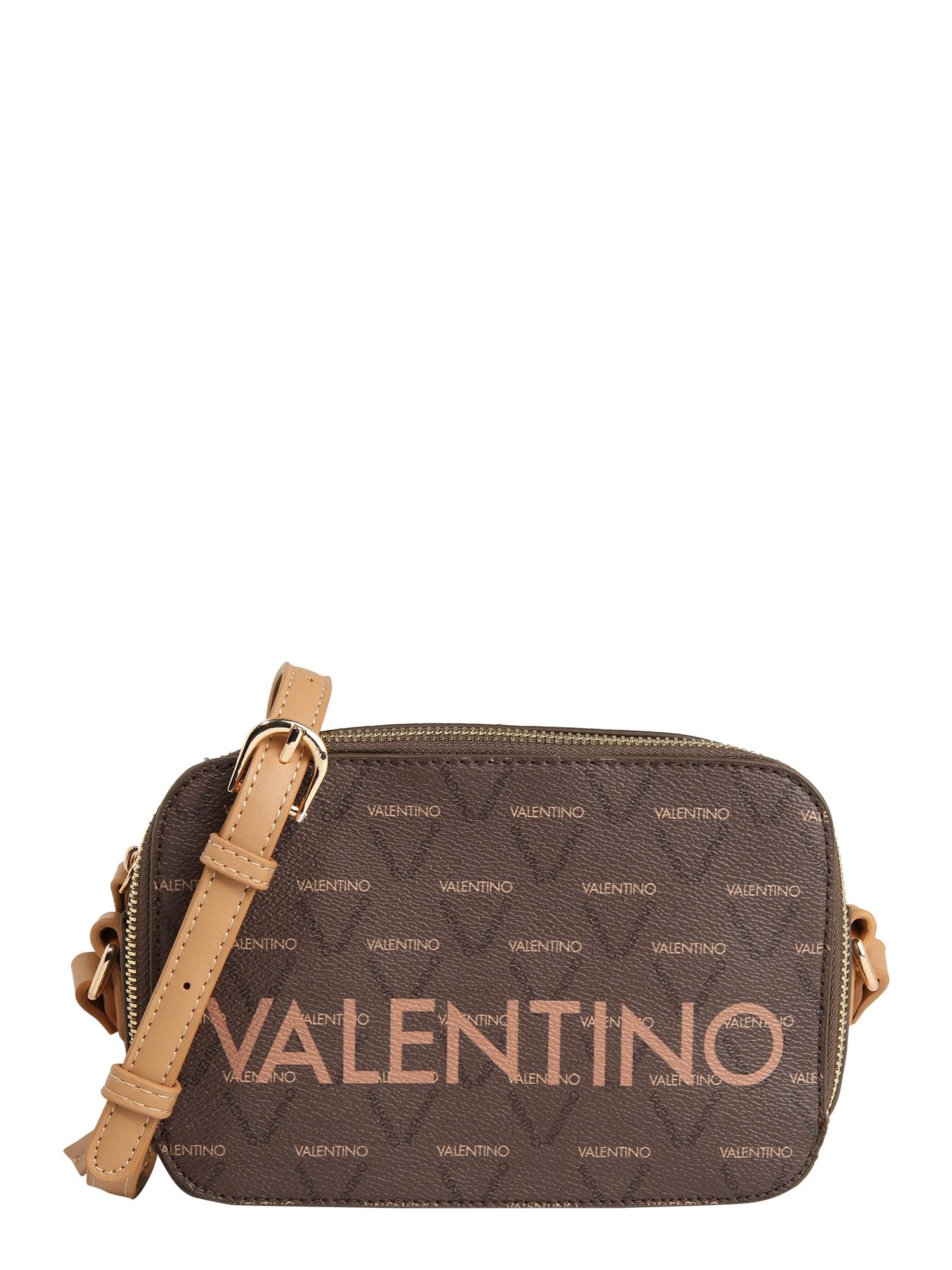 Valentino by Mario Valentino Taška přes rameno 'Liuto'  bílá / tmavě hnědá / černá / světle hnědá
