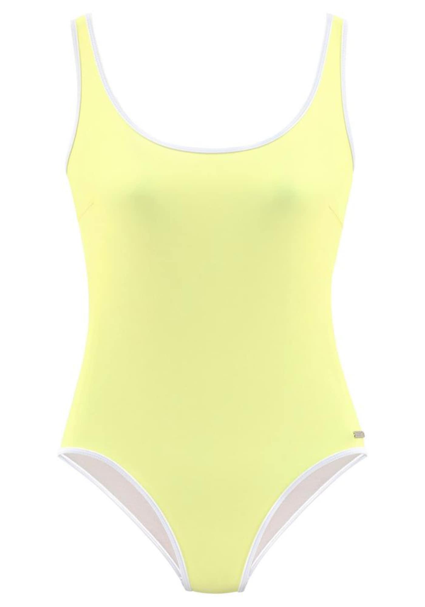 VENICE BEACH Bikinis geltona / balta