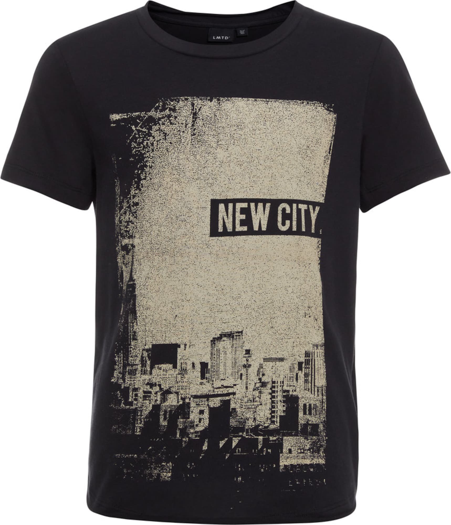 Name it t shirt print in schwarz about you for Print name on shirt