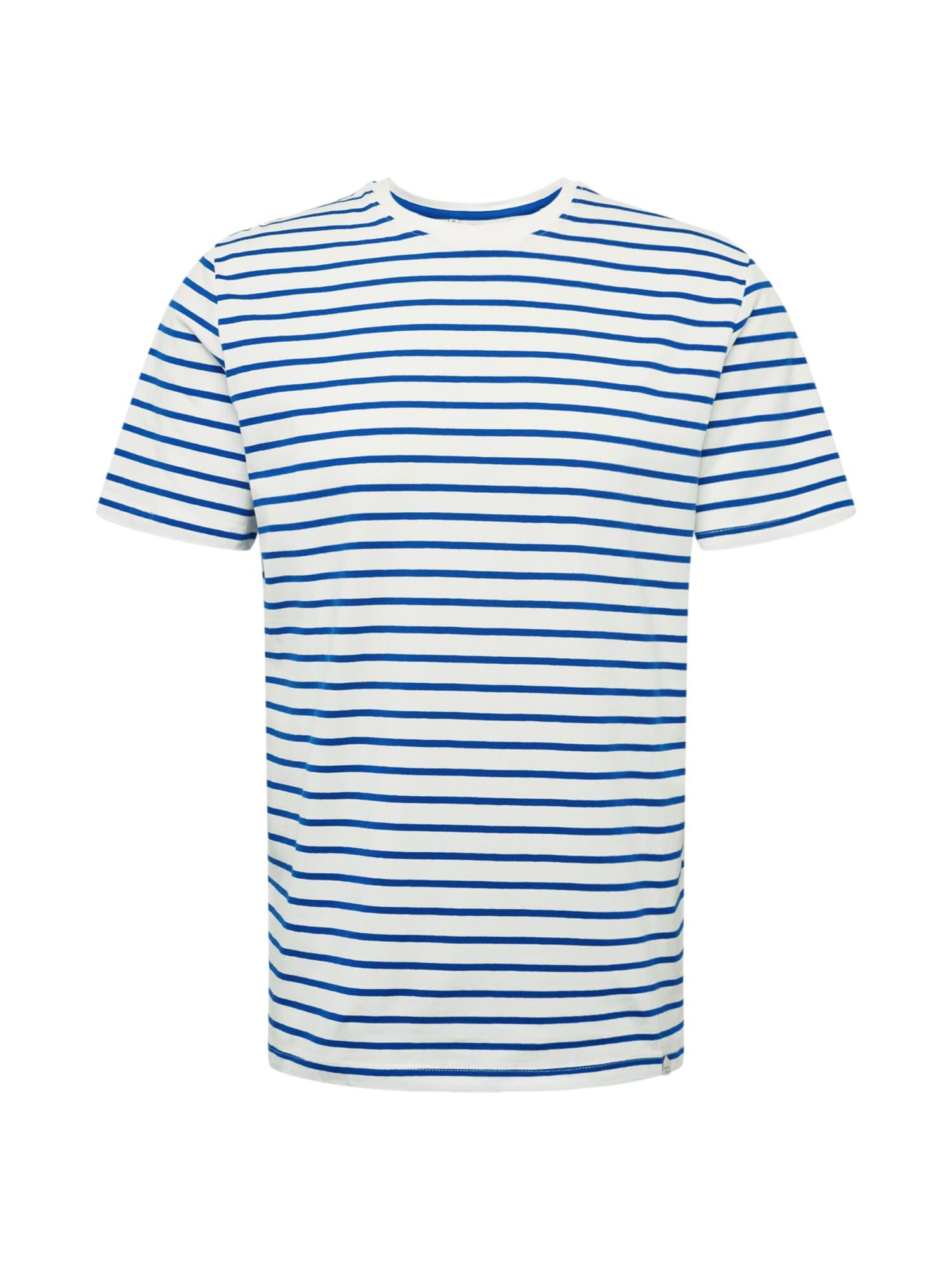 Casual Friday Marškinėliai 'CFTroels' balta / mėlyna