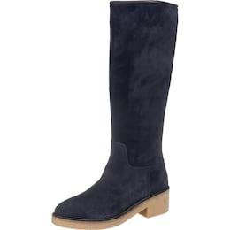 TOMMY HILFIGER Damen Stiefel Mia blau | 08719256038362