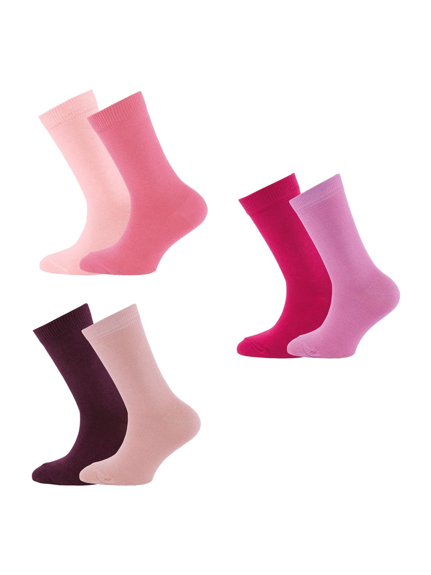 EWERS Kojinės uogų spalva / purpurinė / rožių spalva