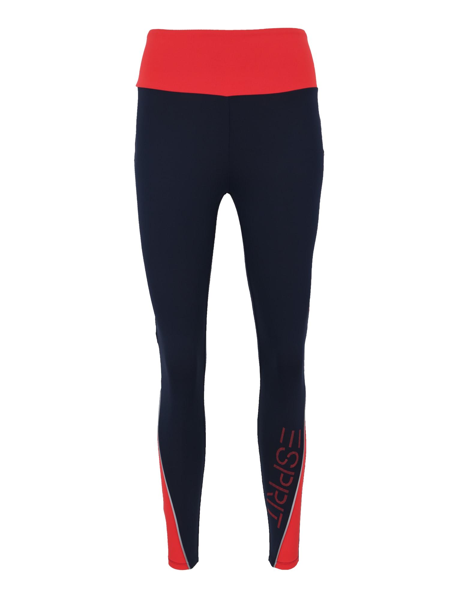 Sportovní kalhoty tight edry cb námořnická modř červená ESPRIT SPORTS