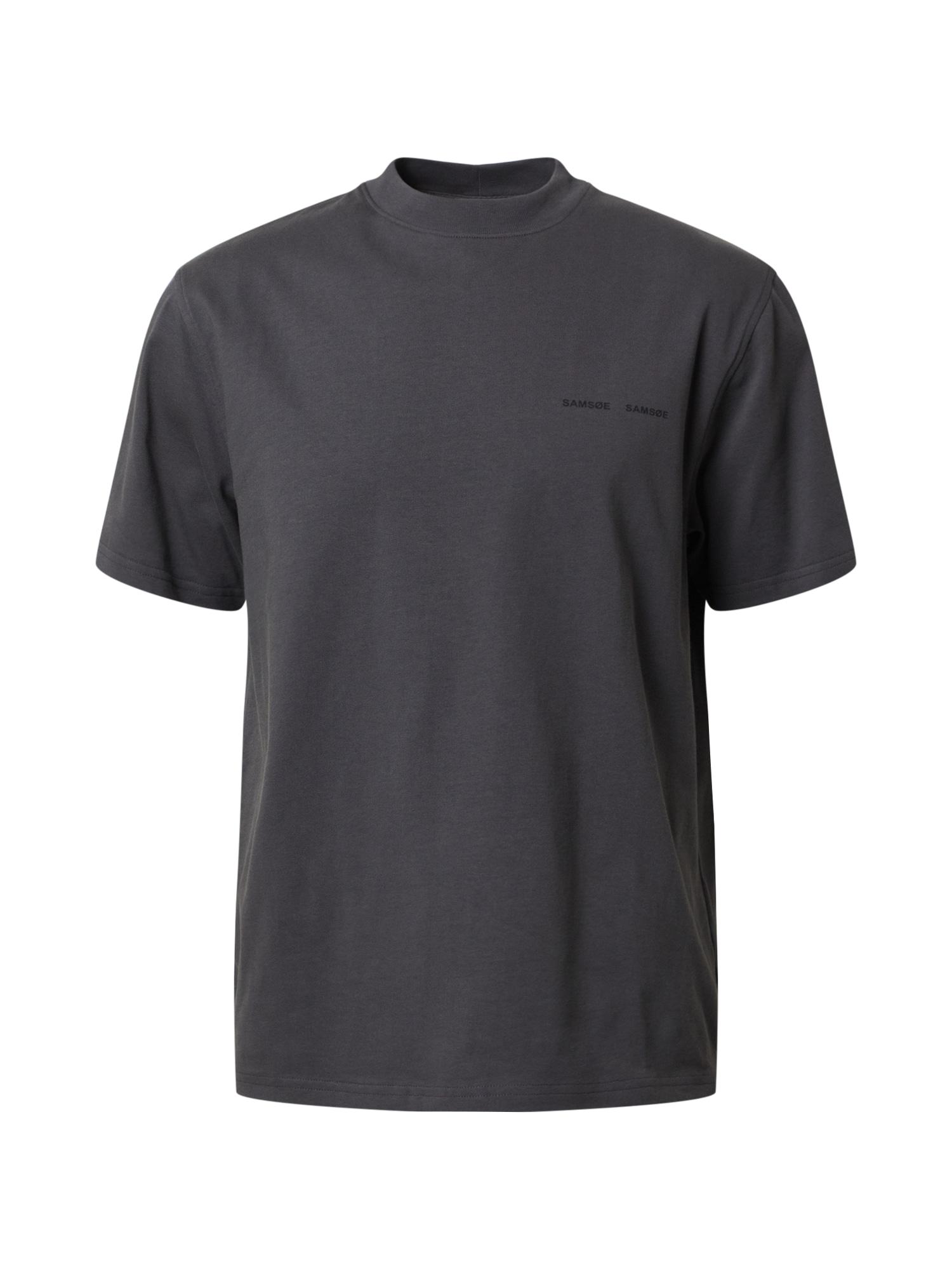 Samsoe Samsoe Tričko 'Norsbro'  sivá