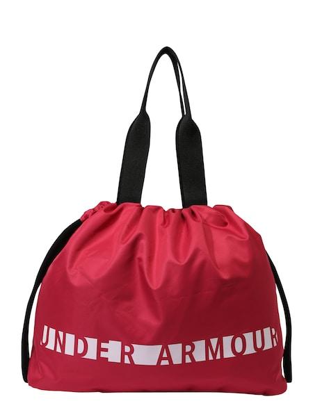 Sporttaschen für Frauen - UNDER ARMOUR Sport Tasche 'Favorite Graphic' beere schwarz weiß  - Onlineshop ABOUT YOU