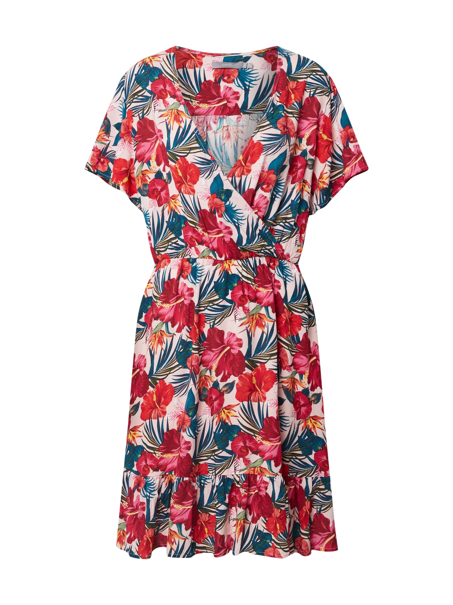 b.young Vasarinė suknelė 'Byilia' mišrios spalvos / rožių spalva / raudona