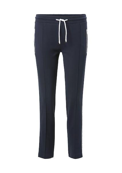 Hosen - Track Pants › Marc O'Polo DENIM › nachtblau weiß  - Onlineshop ABOUT YOU
