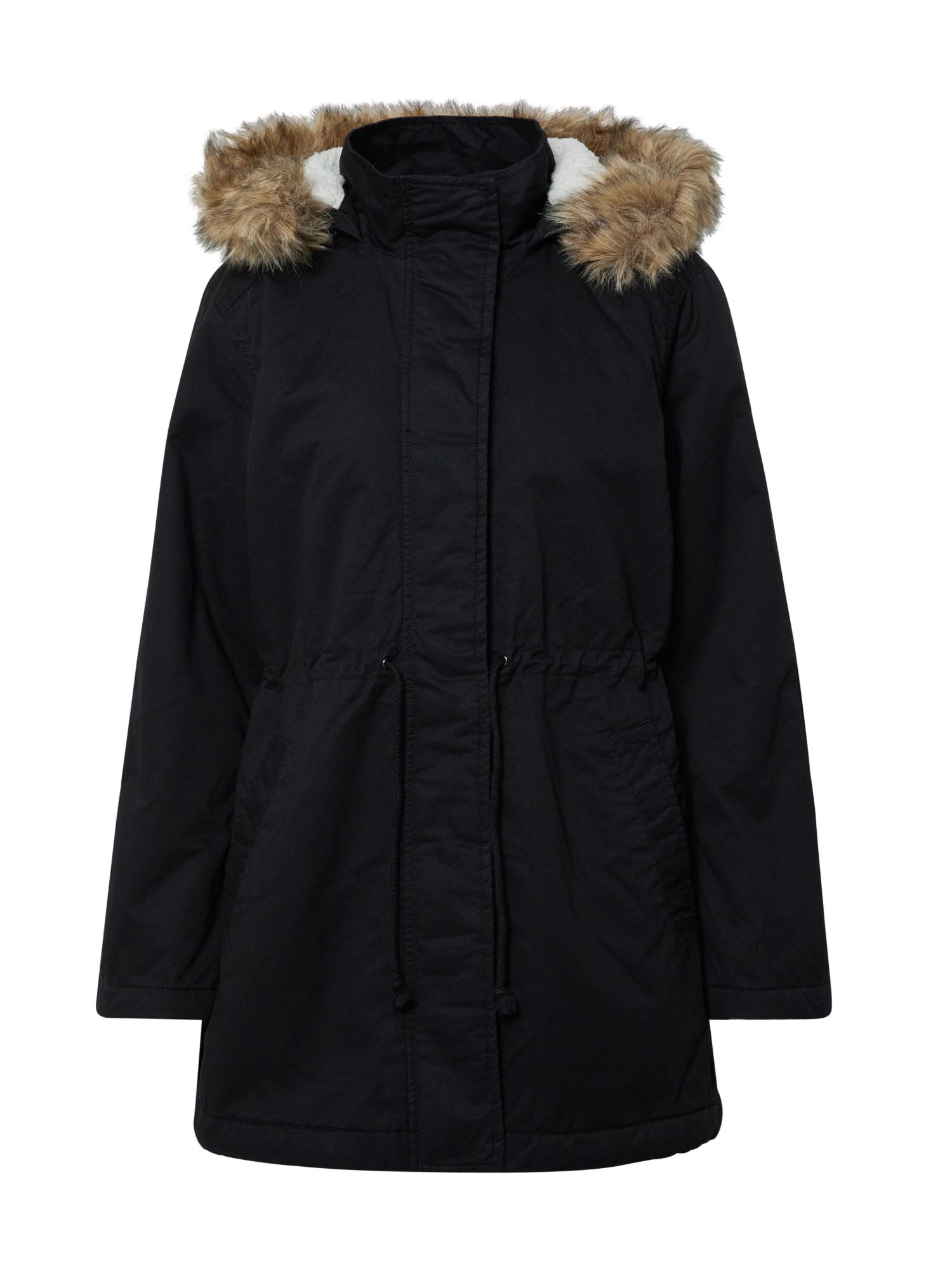 GAP Ilga rudeninė-žieminė striukė 'V-SHERPA PARKA' juoda