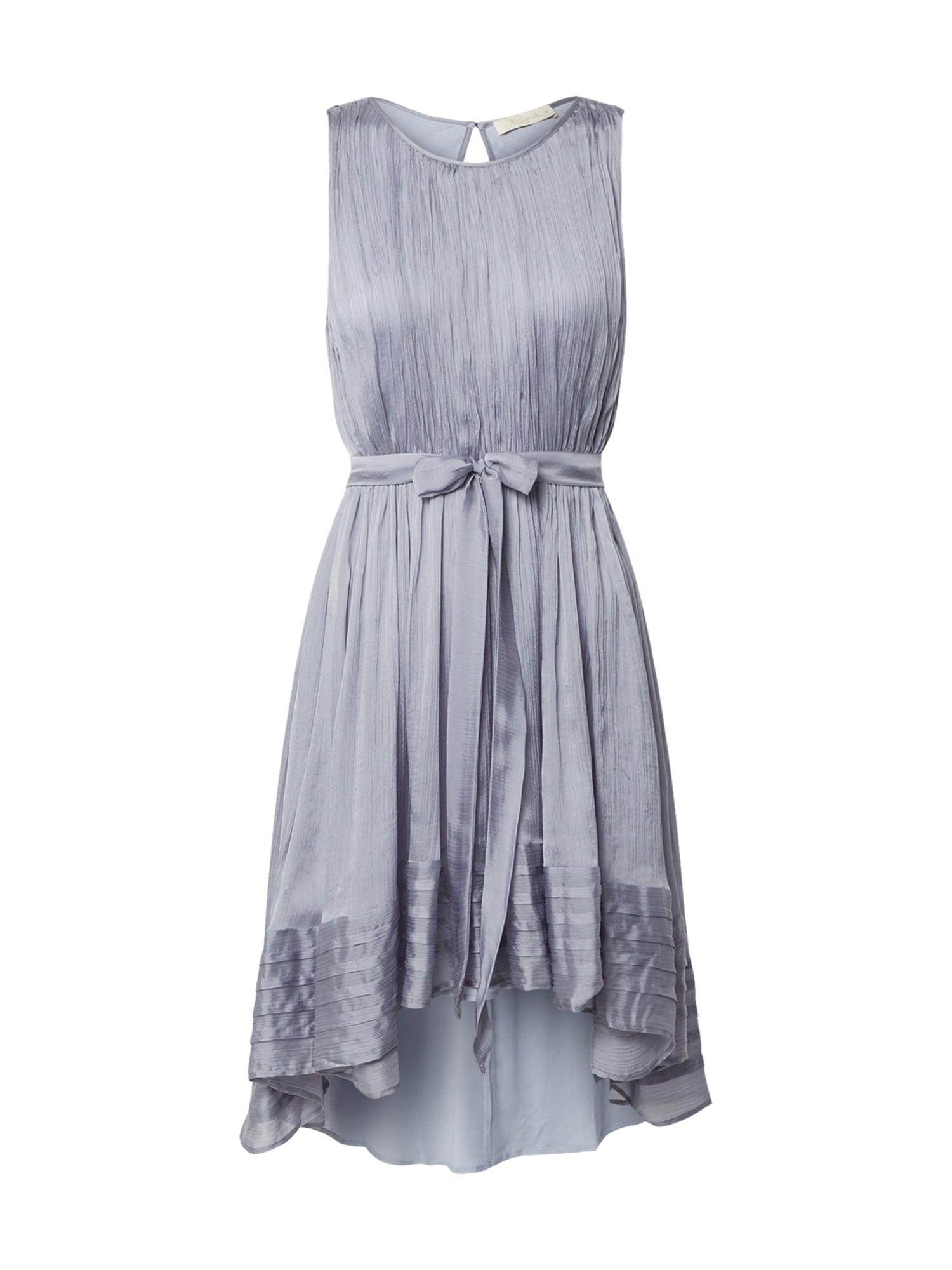 Mes Demoiselles Kokteilové šaty '20S Avalanche'  modrosivá