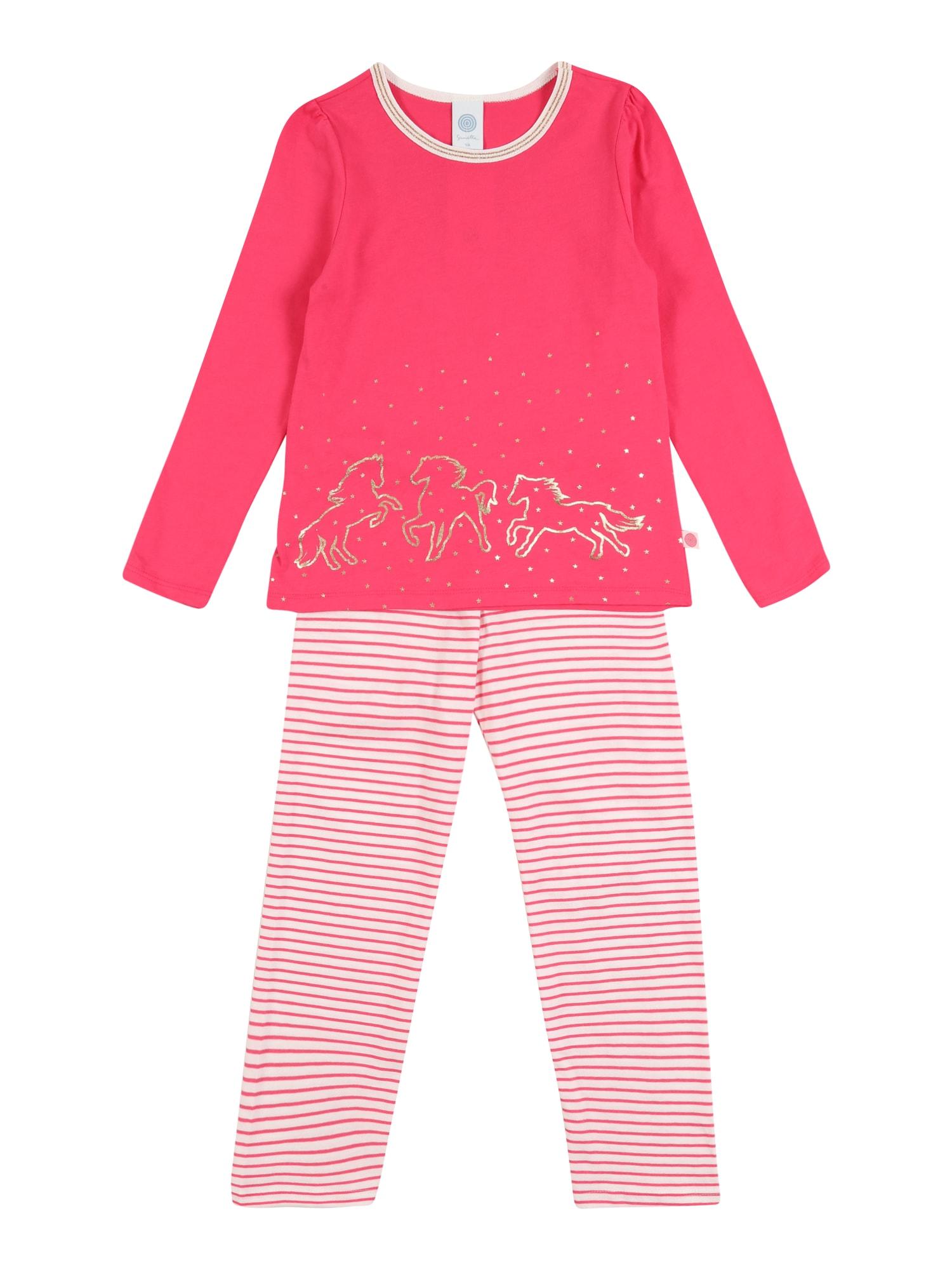 SANETTA Miego kostiumas rožinė