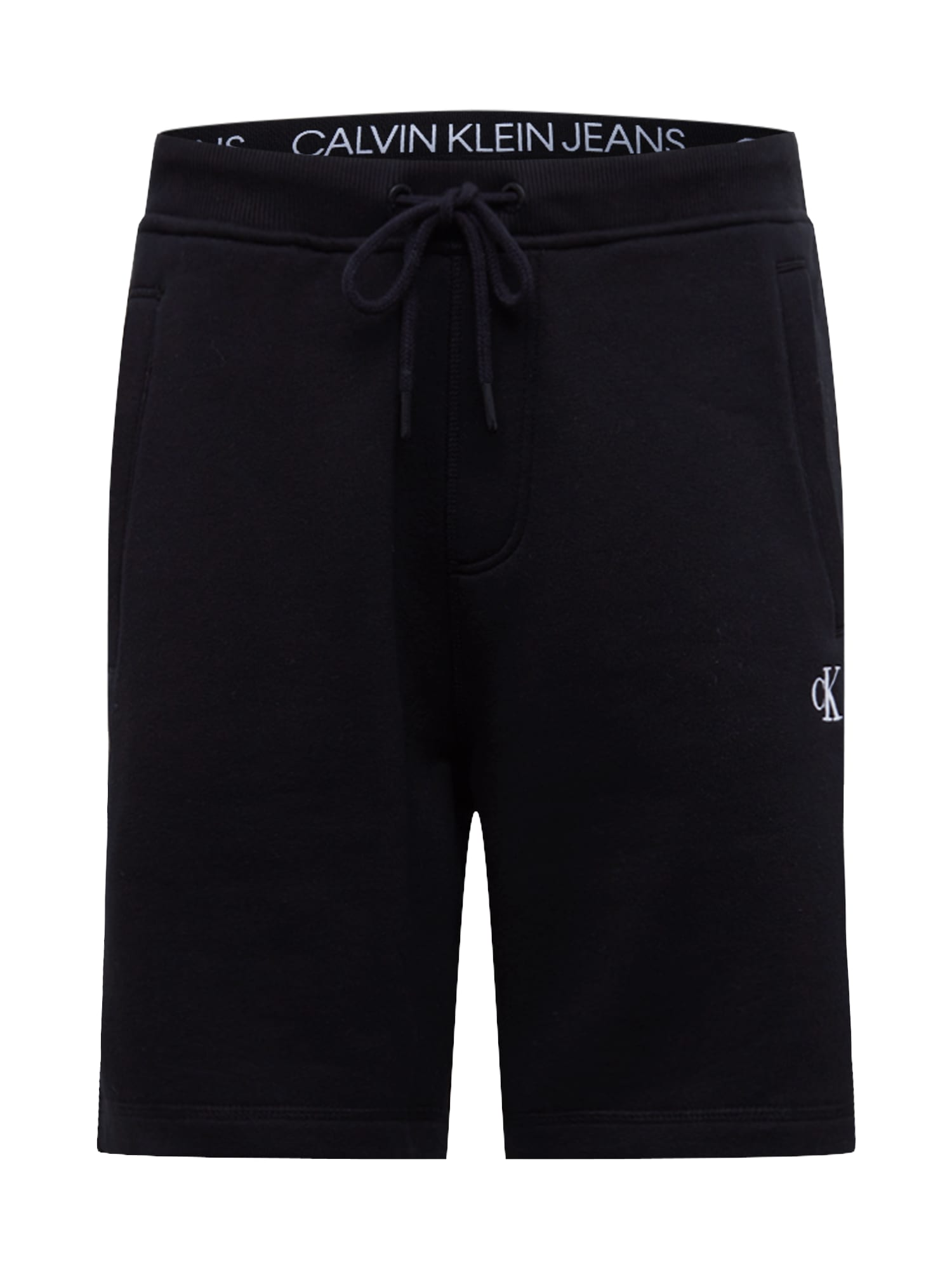 Calvin Klein Jeans Kelnės 'ESSENTIAL HWK' juoda