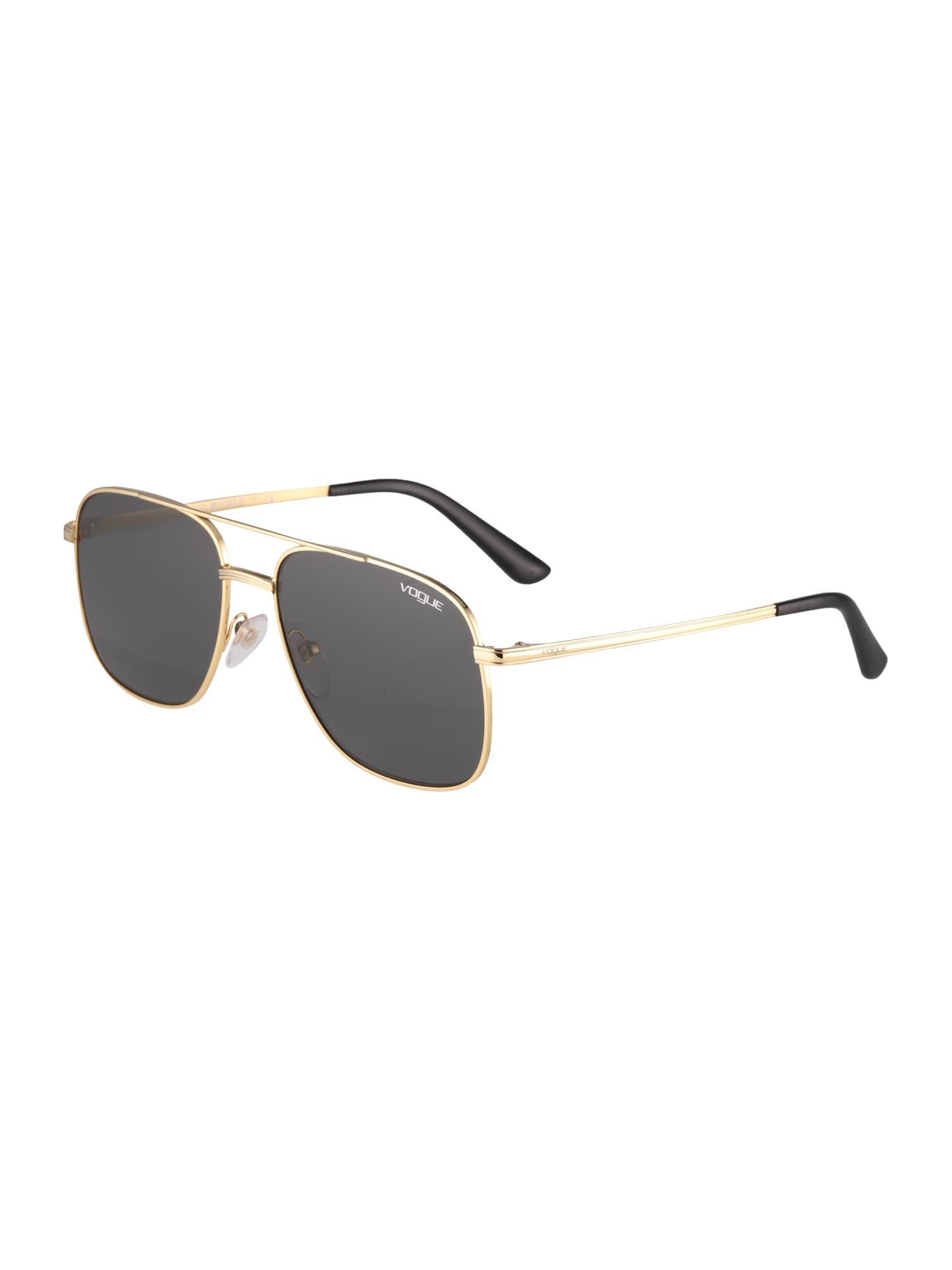 VOGUE Eyewear Akiniai nuo saulės auksas / pilka