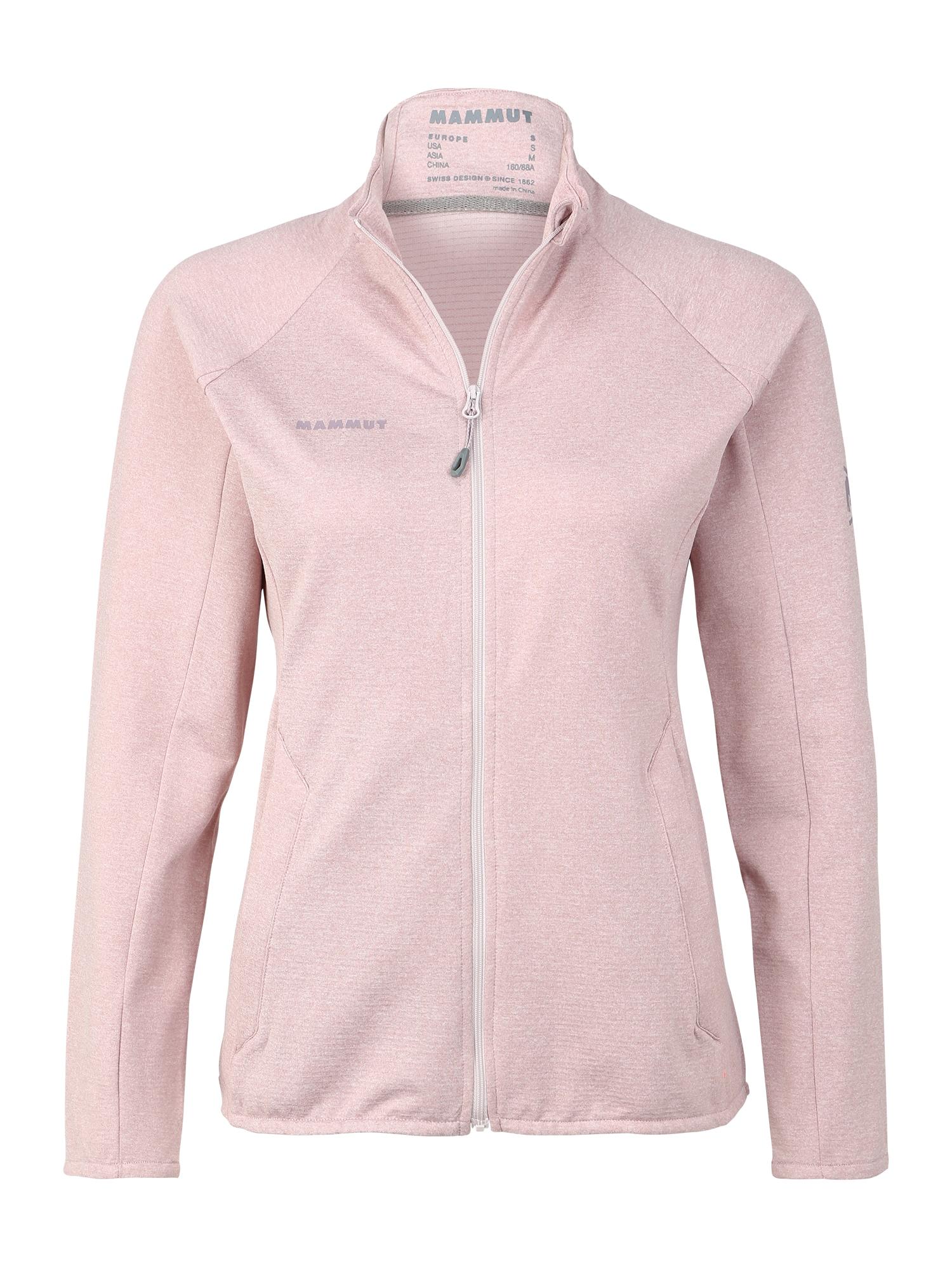 MAMMUT Športová bunda 'Nair ML'  ružová