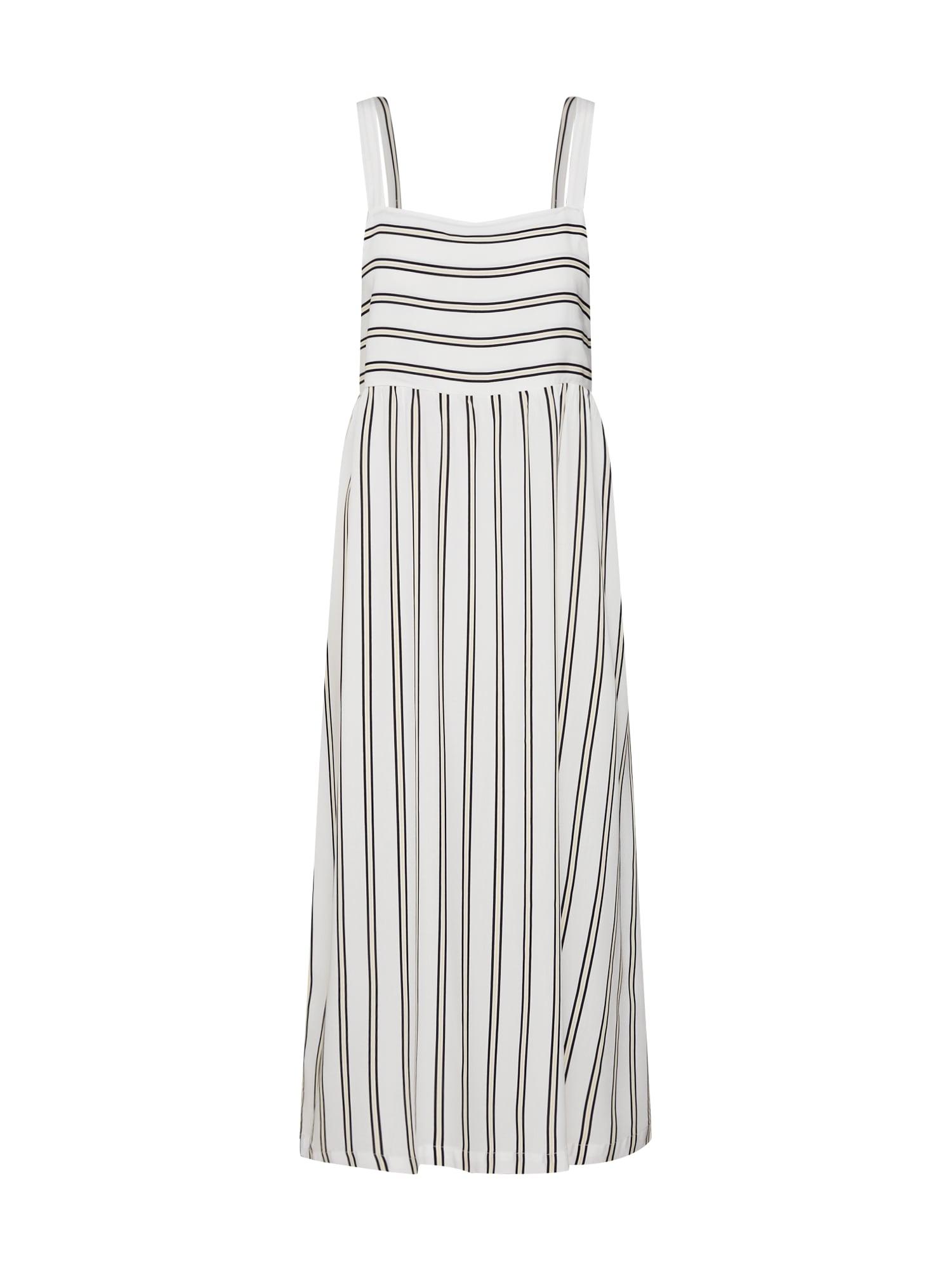 Letní šaty Avril mix barev bílá MOSS COPENHAGEN