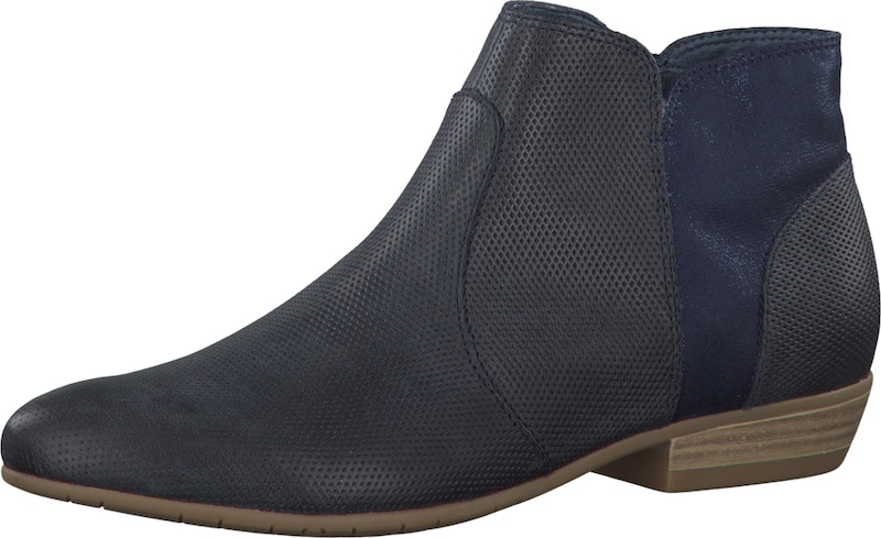 tamaris ankle boots in blau. Black Bedroom Furniture Sets. Home Design Ideas