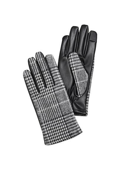 Handschuhe - Handschuhe › s.Oliver › weiß schwarz  - Onlineshop ABOUT YOU