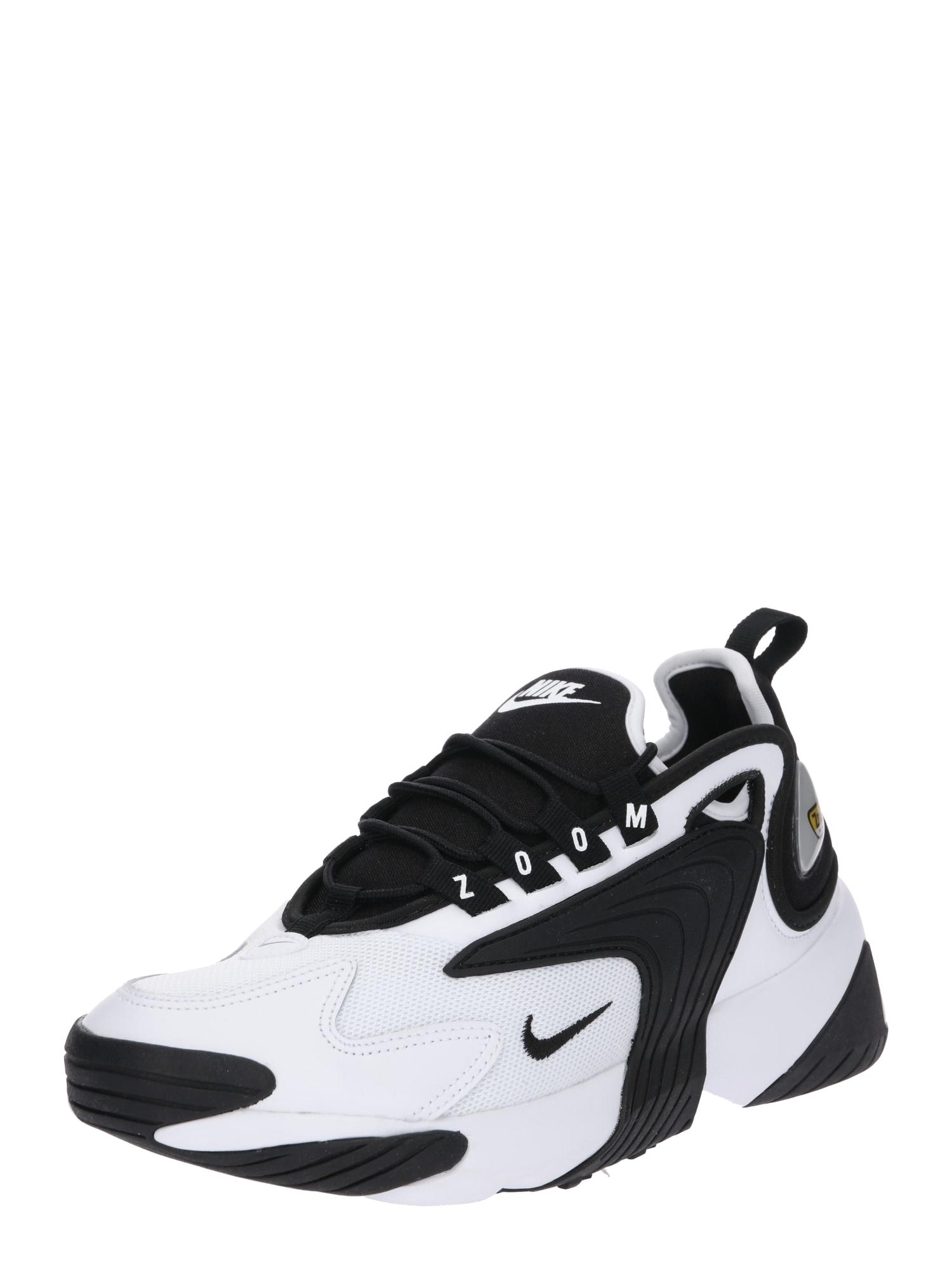 Nike Sportswear Sportbačiai be auliuko 'Zoom 2K' balta / juoda