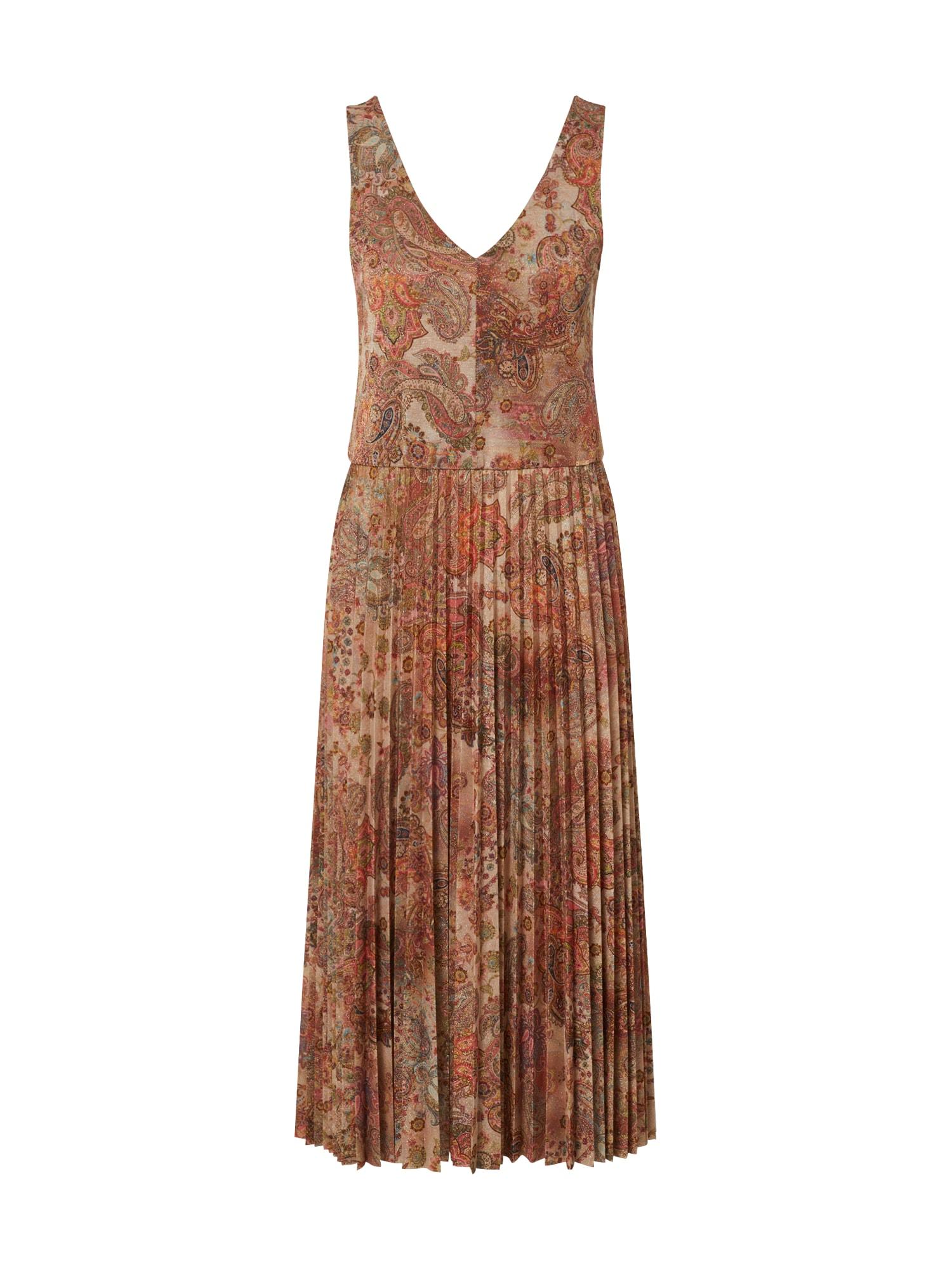 CINQUE Suknelė 'FALDA' mišrios spalvos / rožių spalva